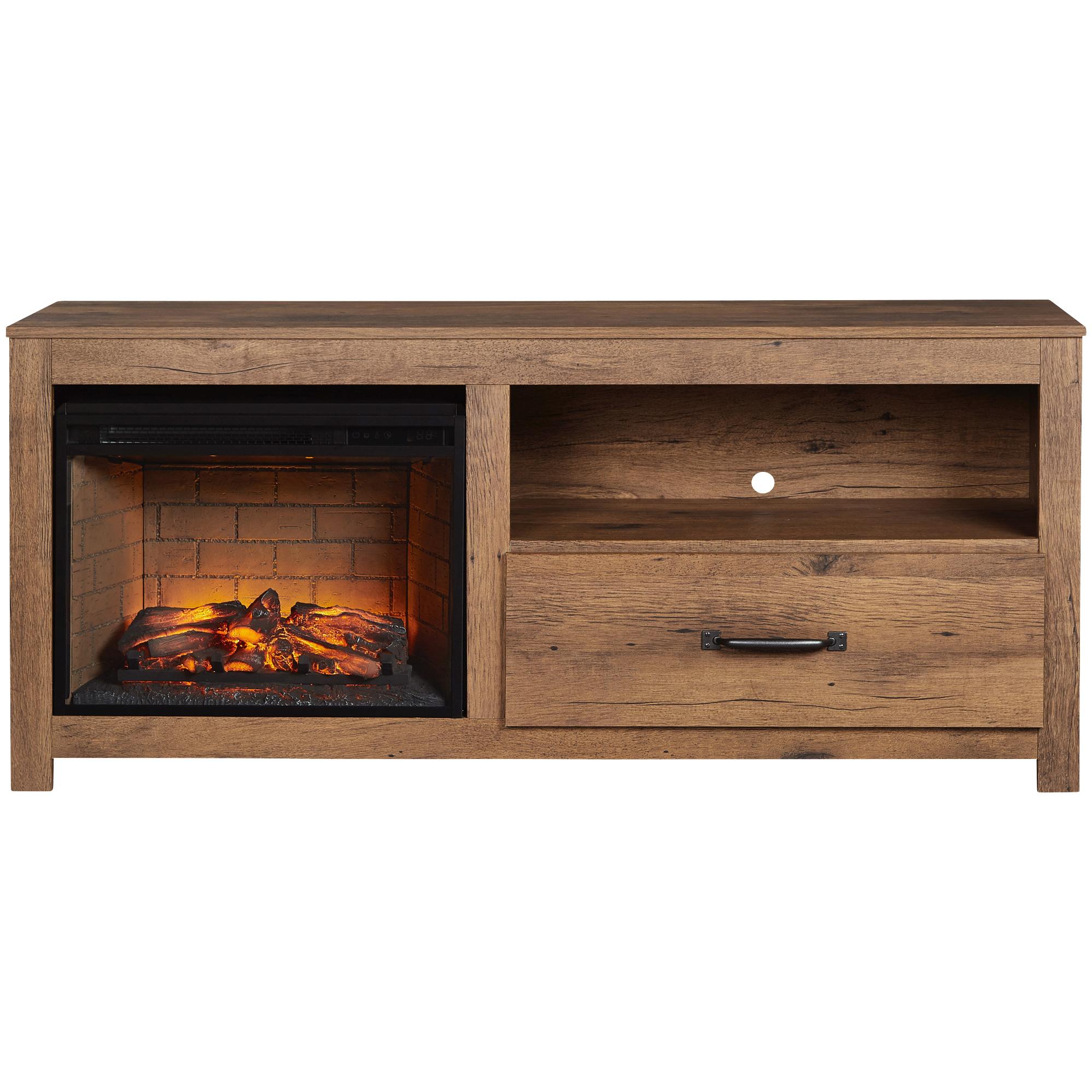"""Kith Furniture | Cheyenne Oak 60"""" Fireplace Console Table"""