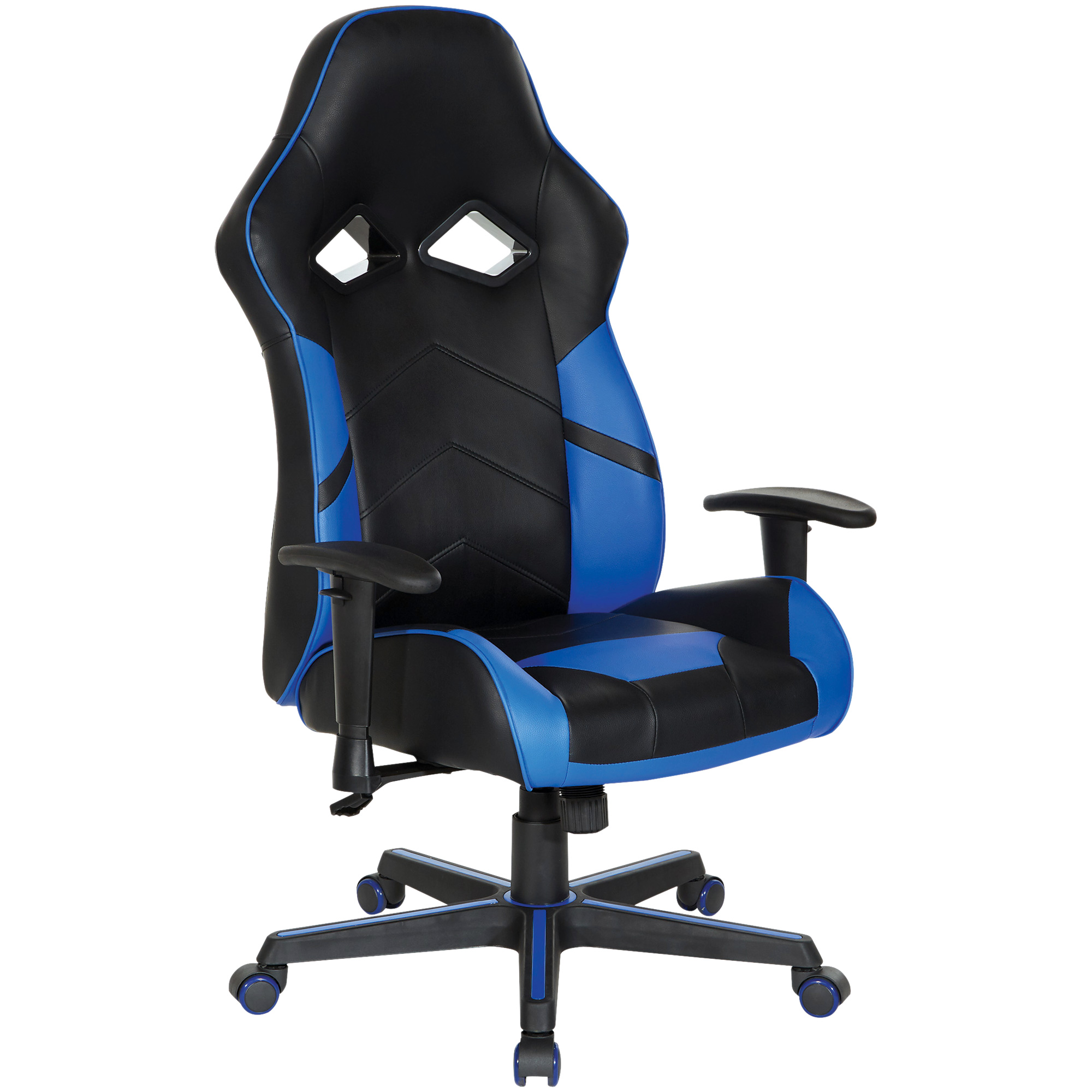 Office Star Products | Cobra Blue Gaming Chair