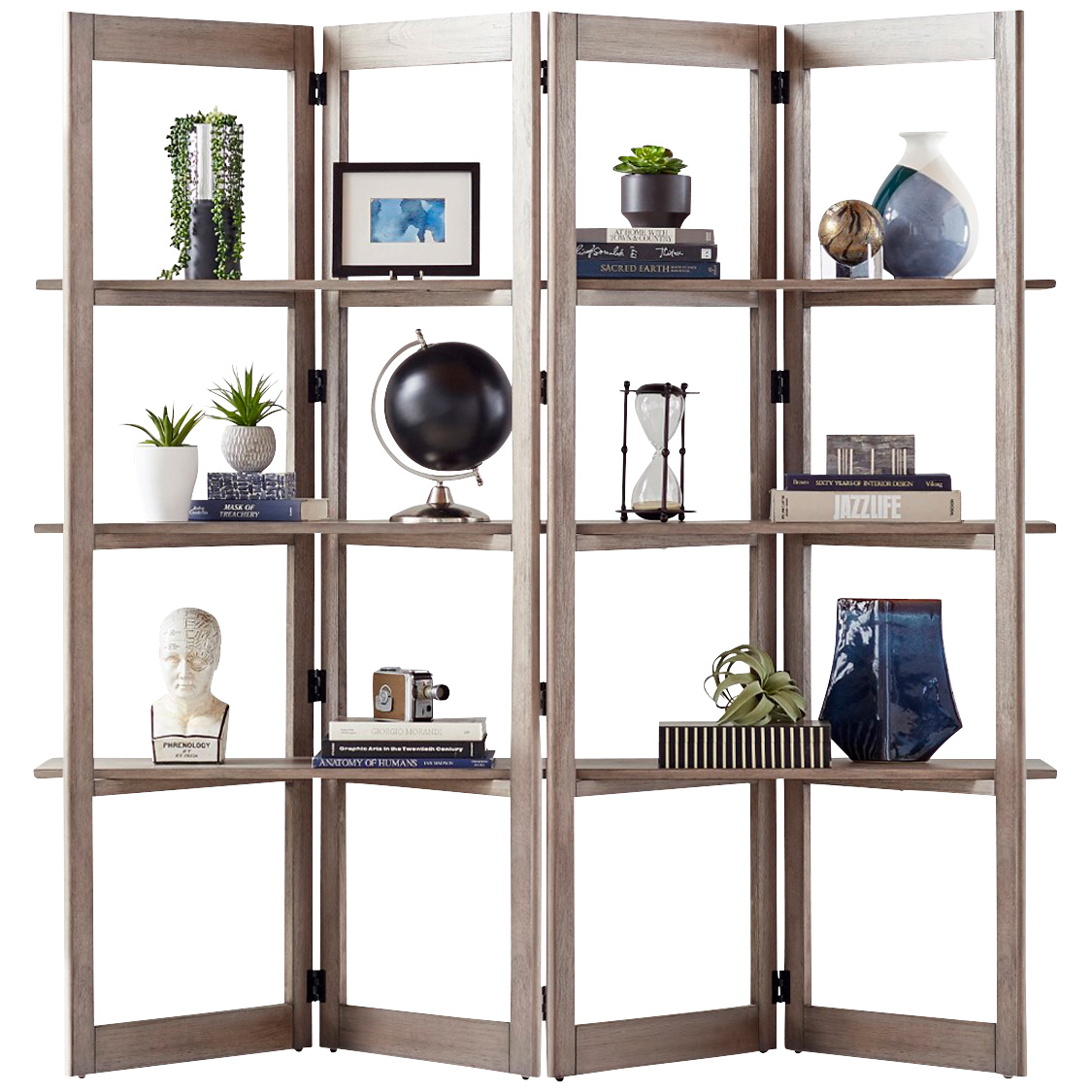 Martin Furniture | Townwood Gray Room Divider