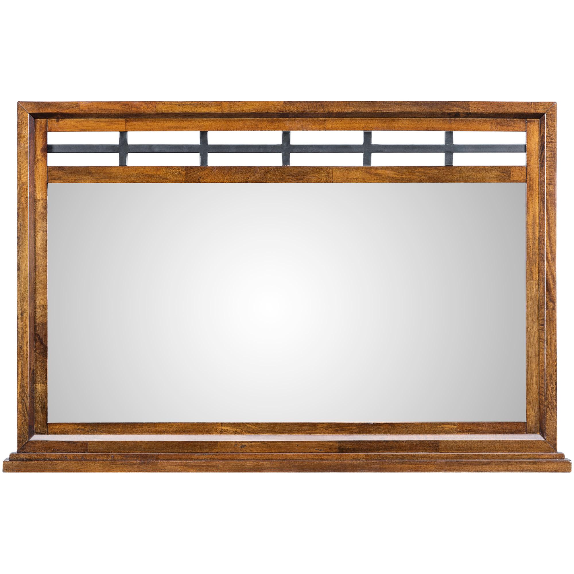 Napa Furniture | Whistler Retreat Dark Walnut Mirror | Mango