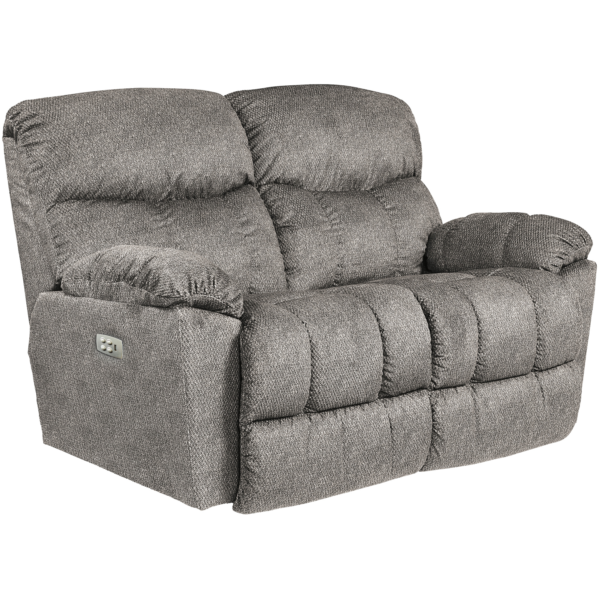 La-Z-Boy | Morrison Silver Power Plus Reclining Loveseat Sofa