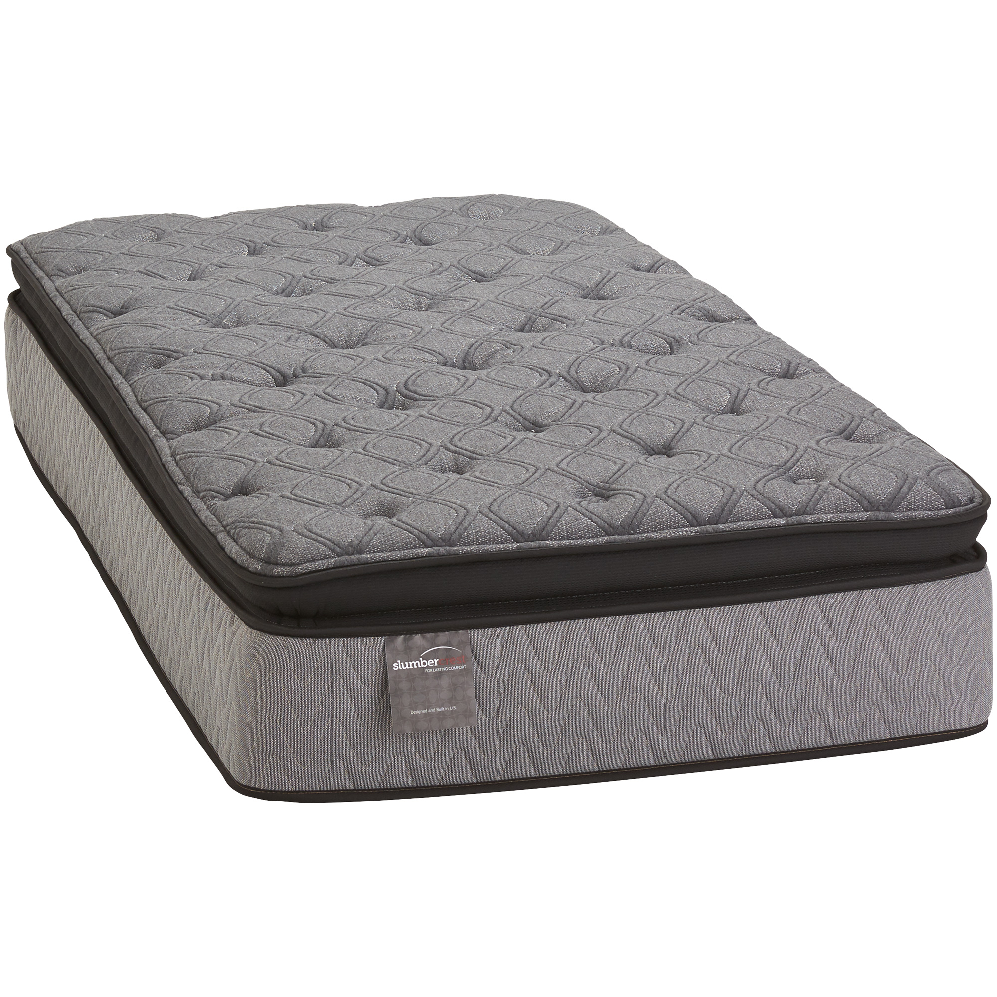 Slumbercrest Plush Pillowtop Twin Mattress