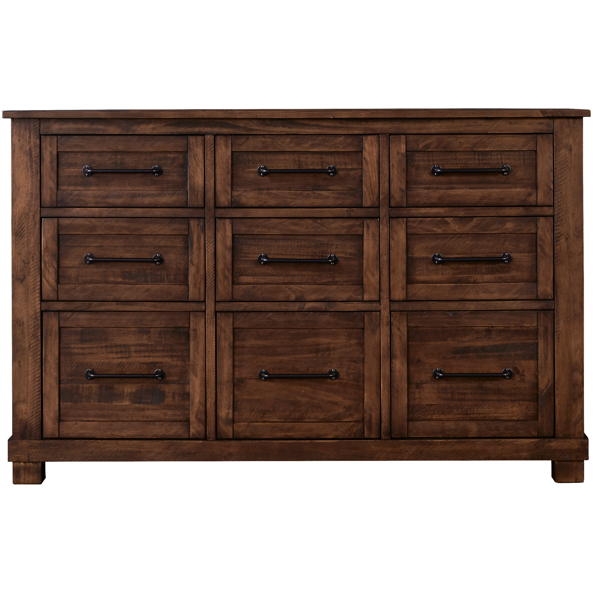 America | Sun Valley Rustic Timber Dresser