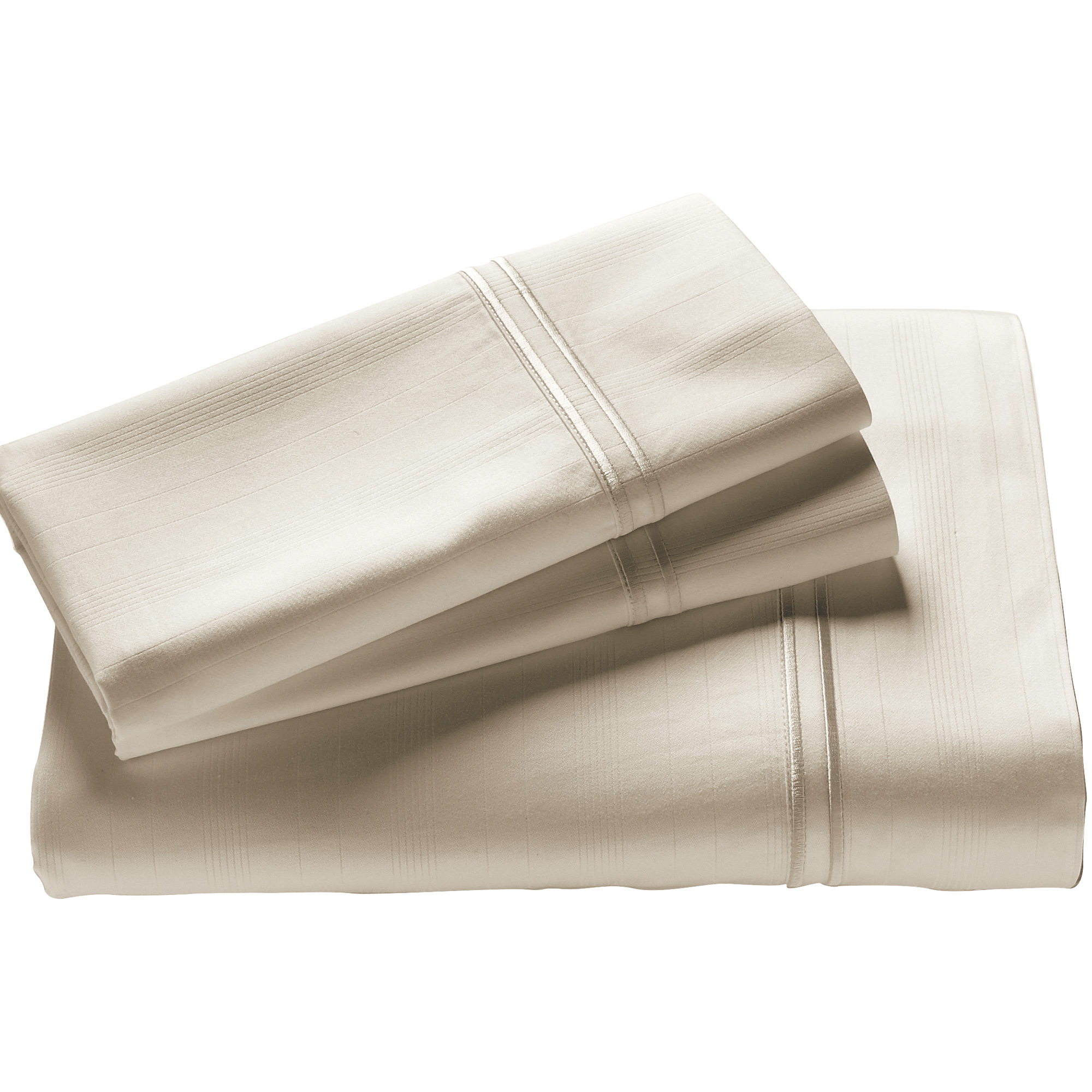 Purecare | Elements Ivory California King Bamboo Sheet Set