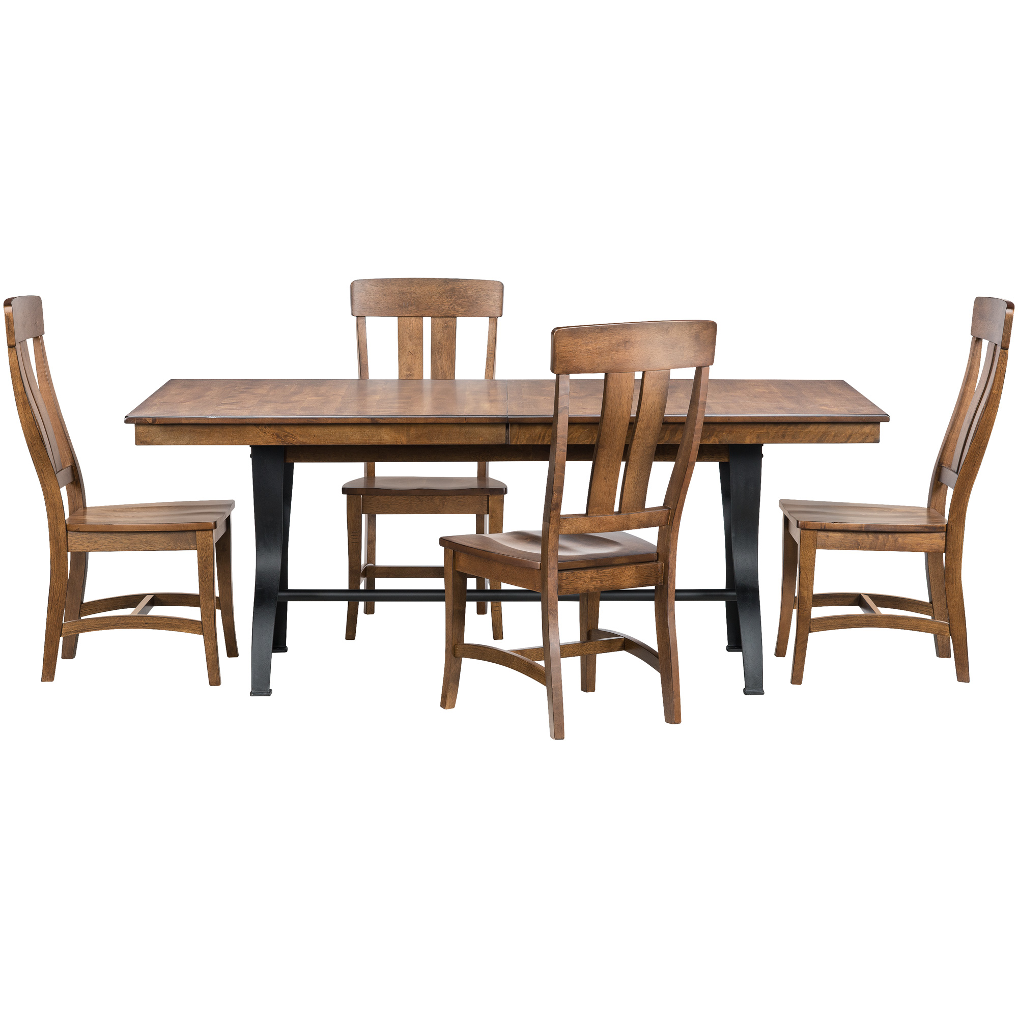 Intercon | District Copper 5 Piece Dining Set