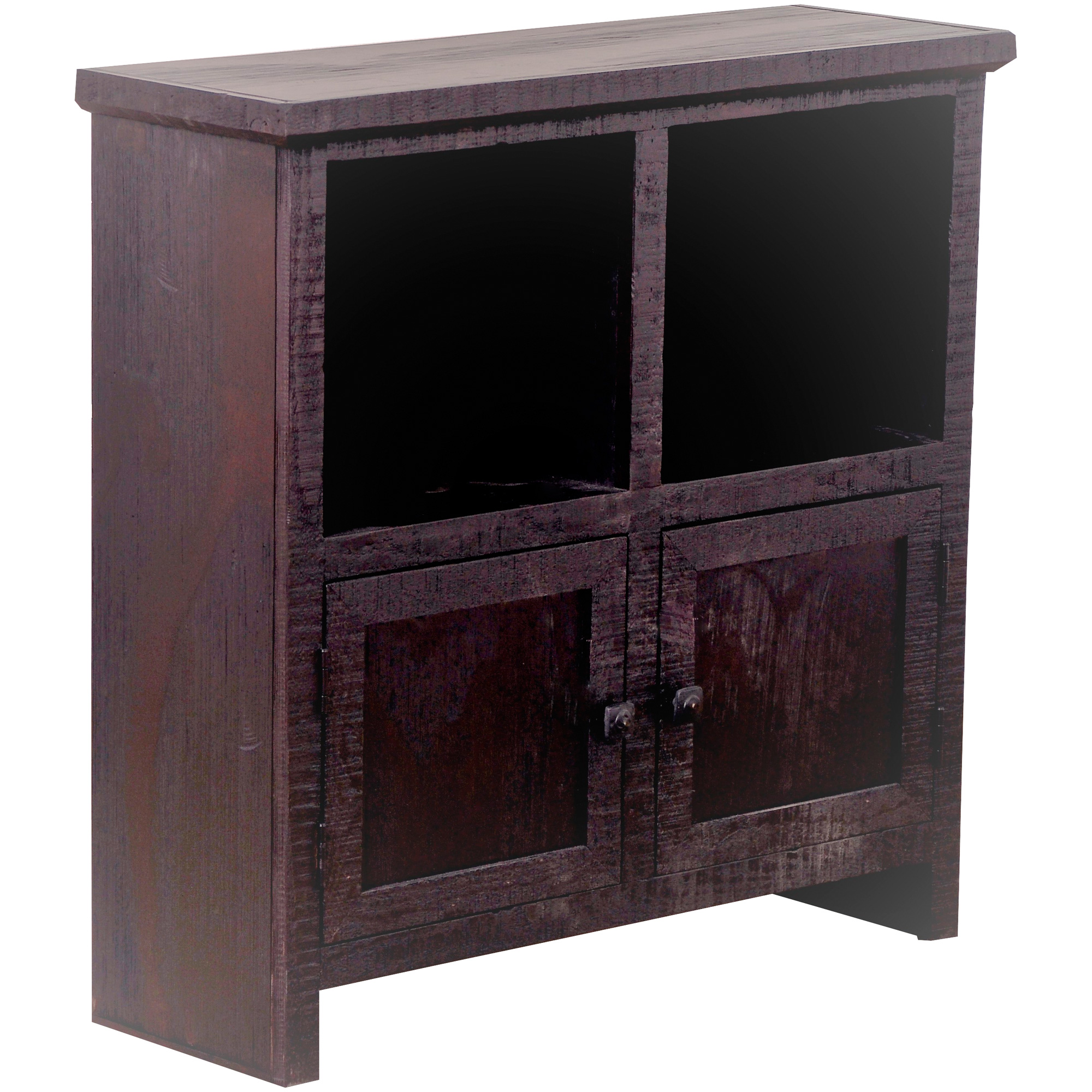 Kurio King | Fowler Espresso 2 Door Cabinet | Dark Brown