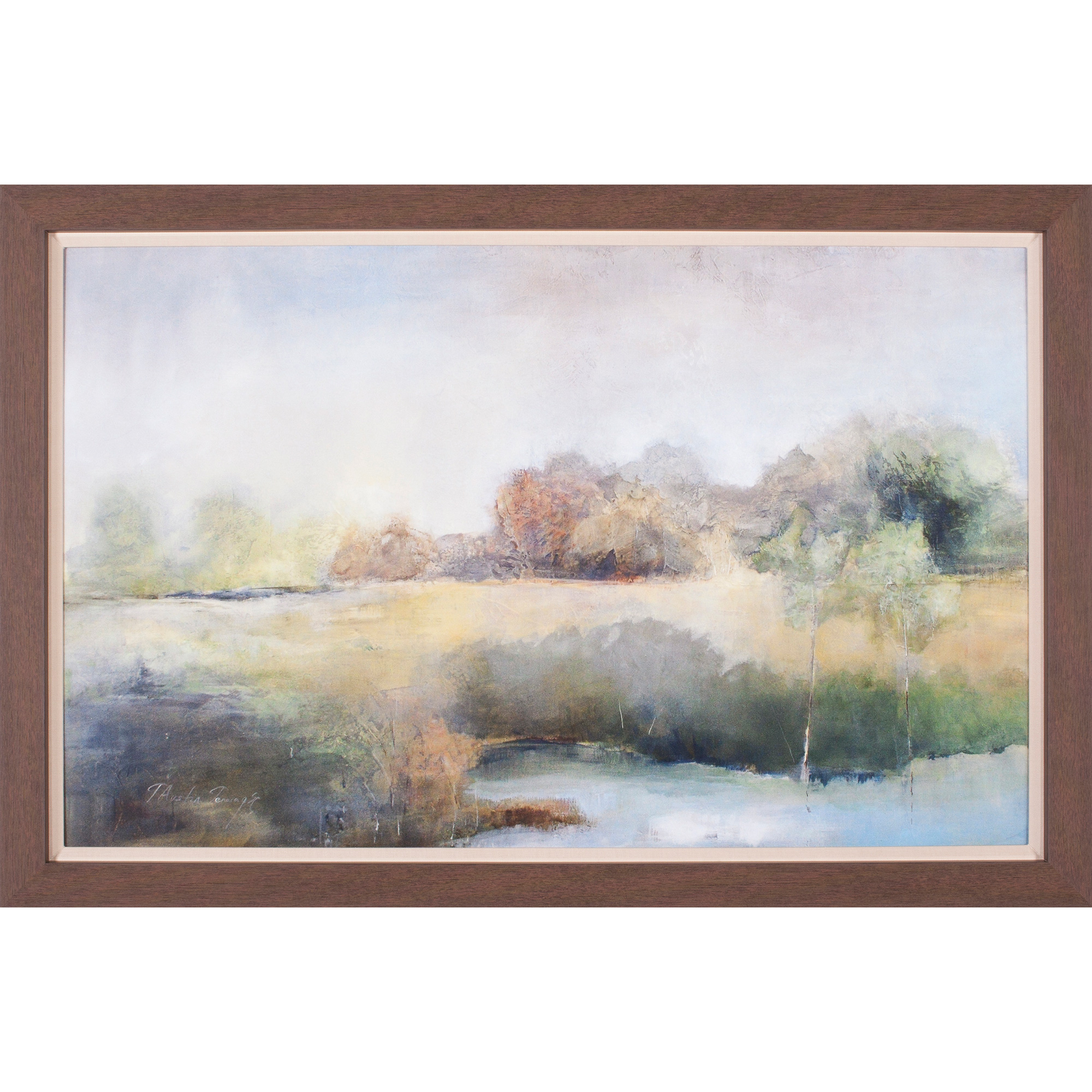 Art Effects   A Chill in The Air Framed Artwork