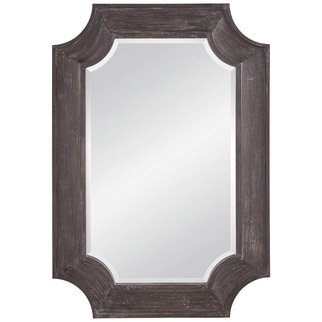Bassett Mirror Co | Harlan Distressed Gray Mirror