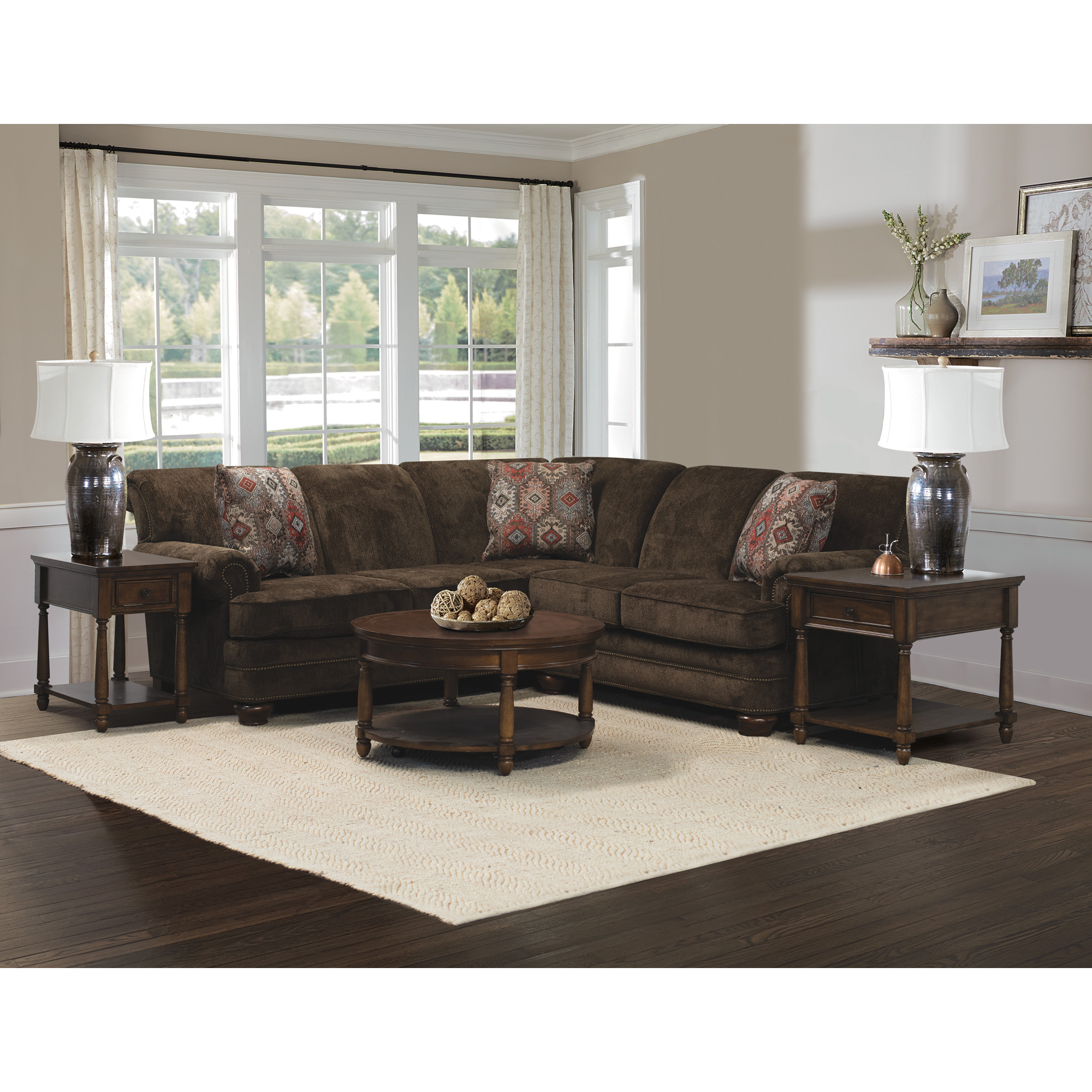 Dimensions By Englanddimensions By England York Granite 3 Piece Sectional Sofa Dailymail