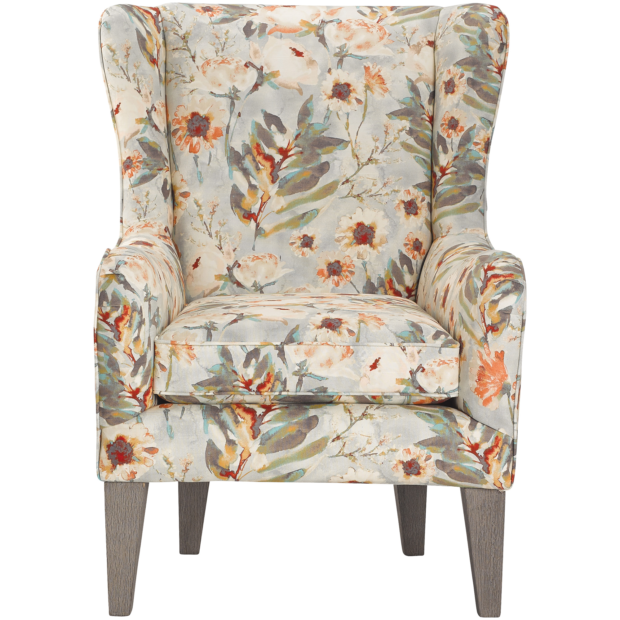 Best Home Furnishings | Lorette Shell Wingback Accent Chair