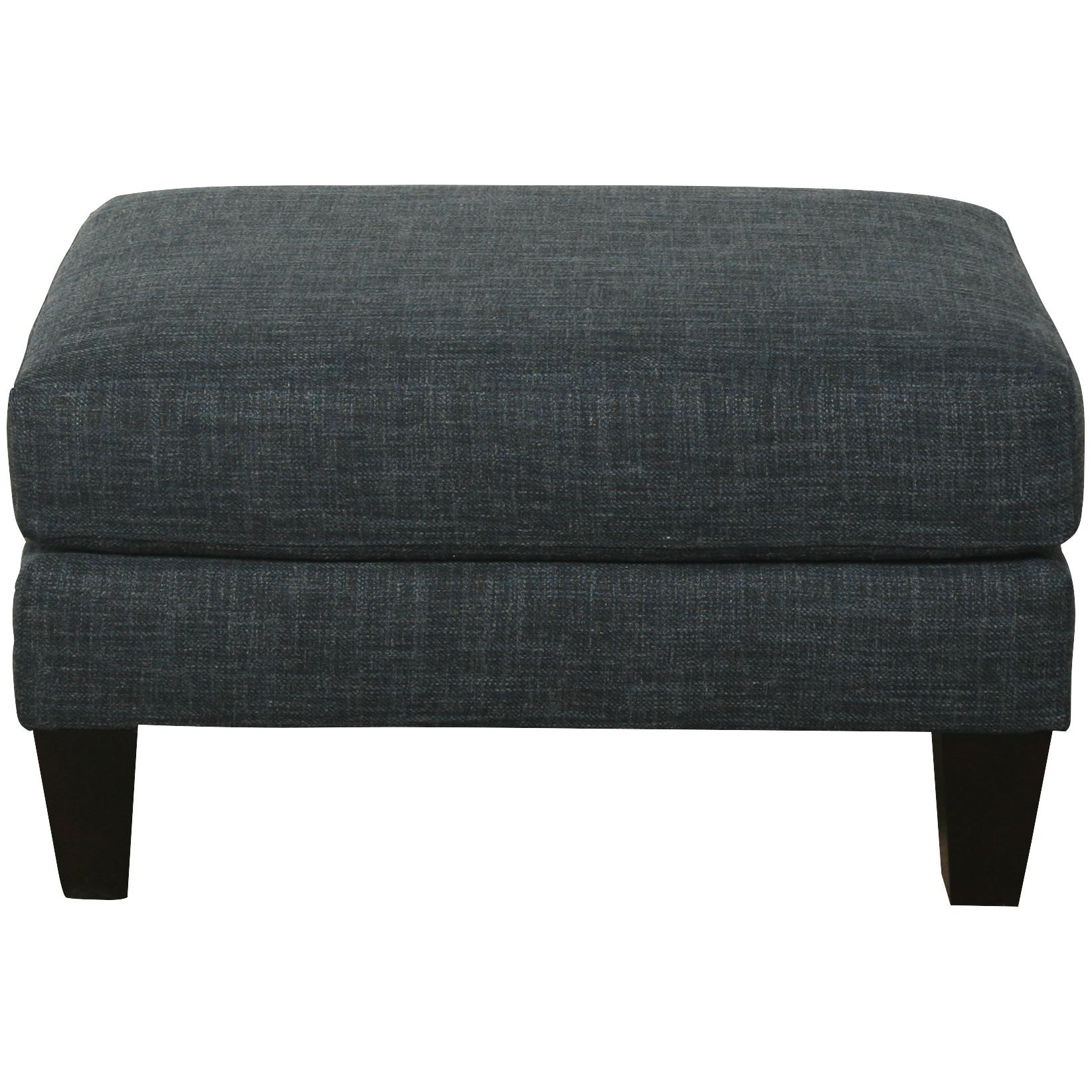 Bauhaus Furniture   Solo Blue Ottoman