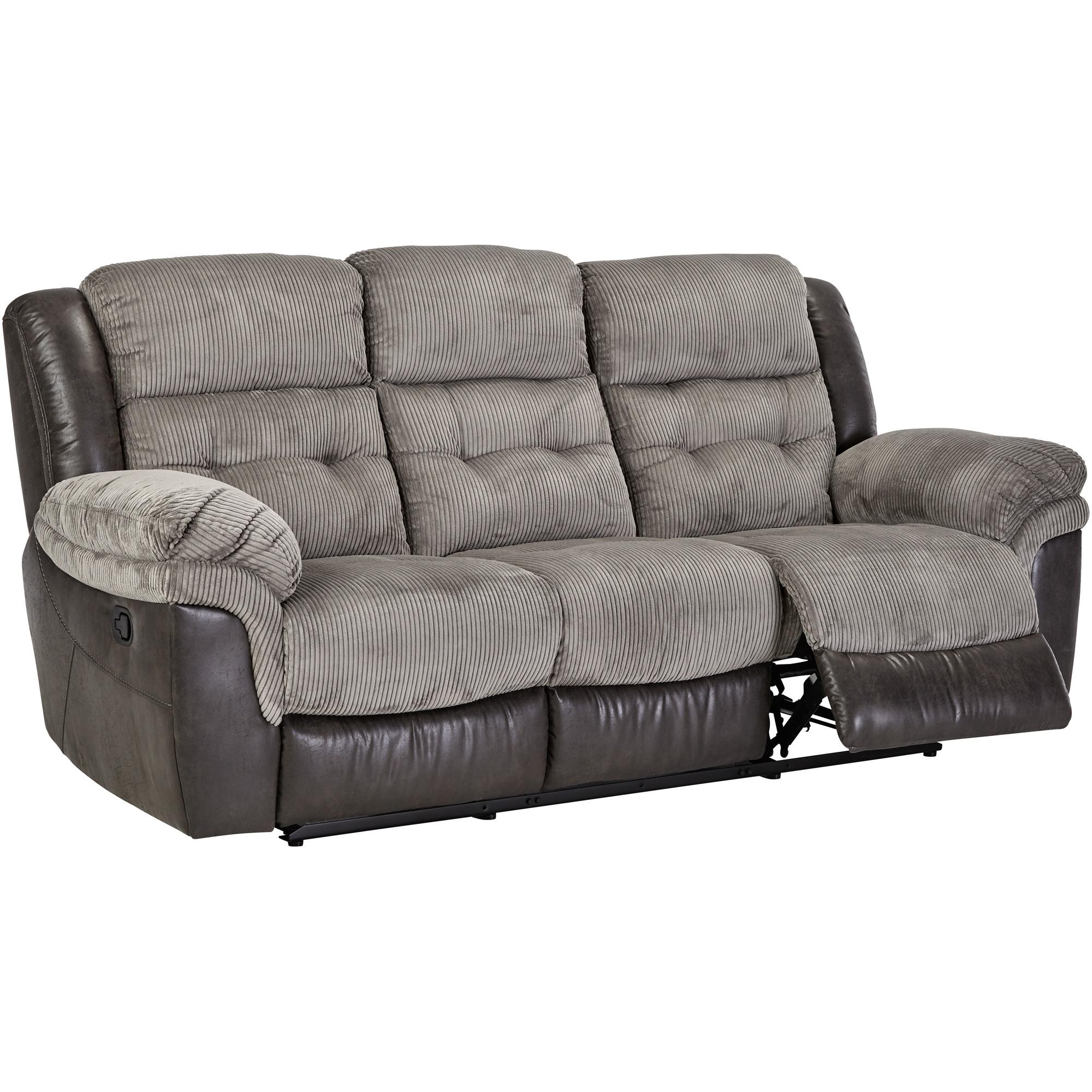 Wah Cheers | Dunkirk Steel Reclining Sofa