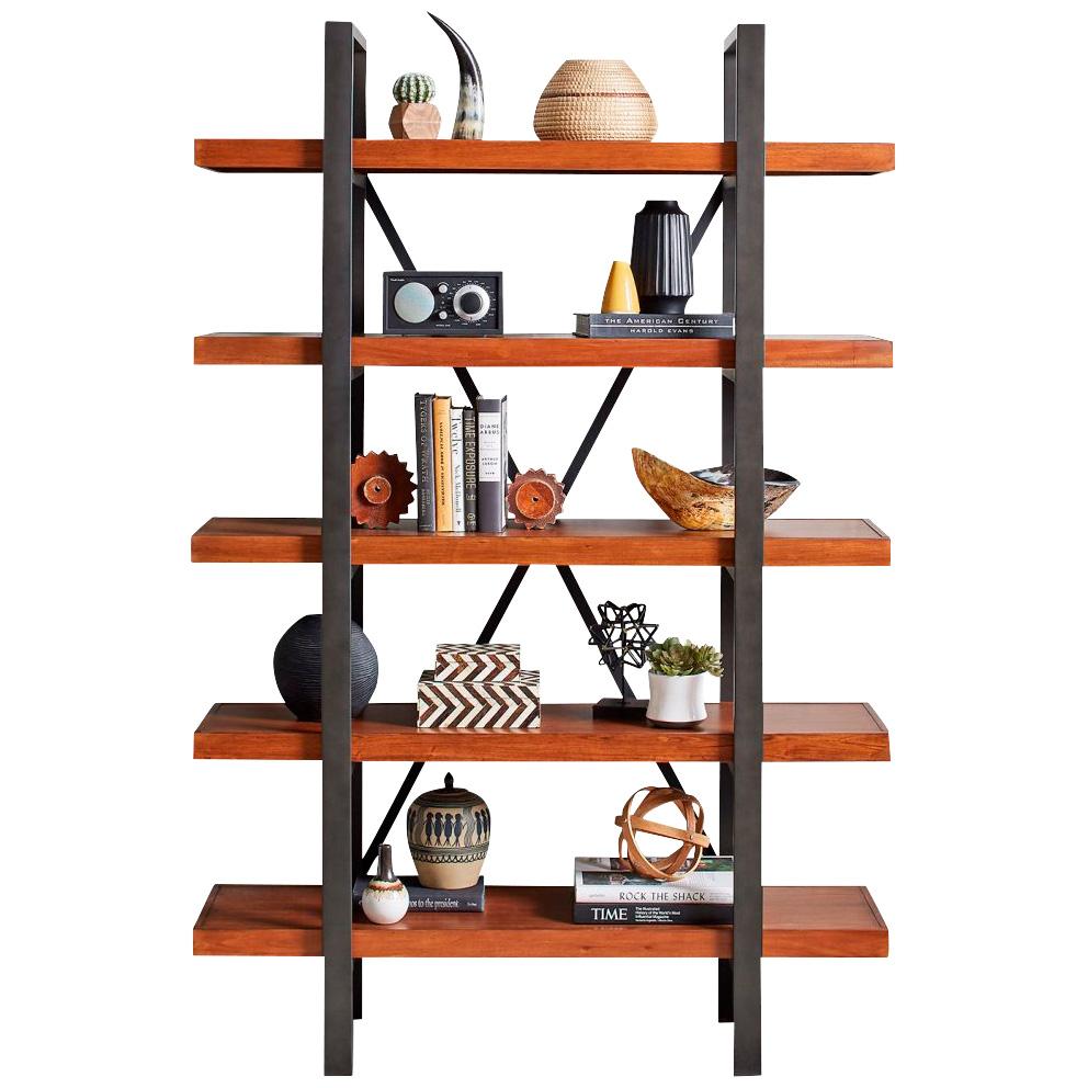 Martin Furniture | Grafton Cherry Open Bookcase