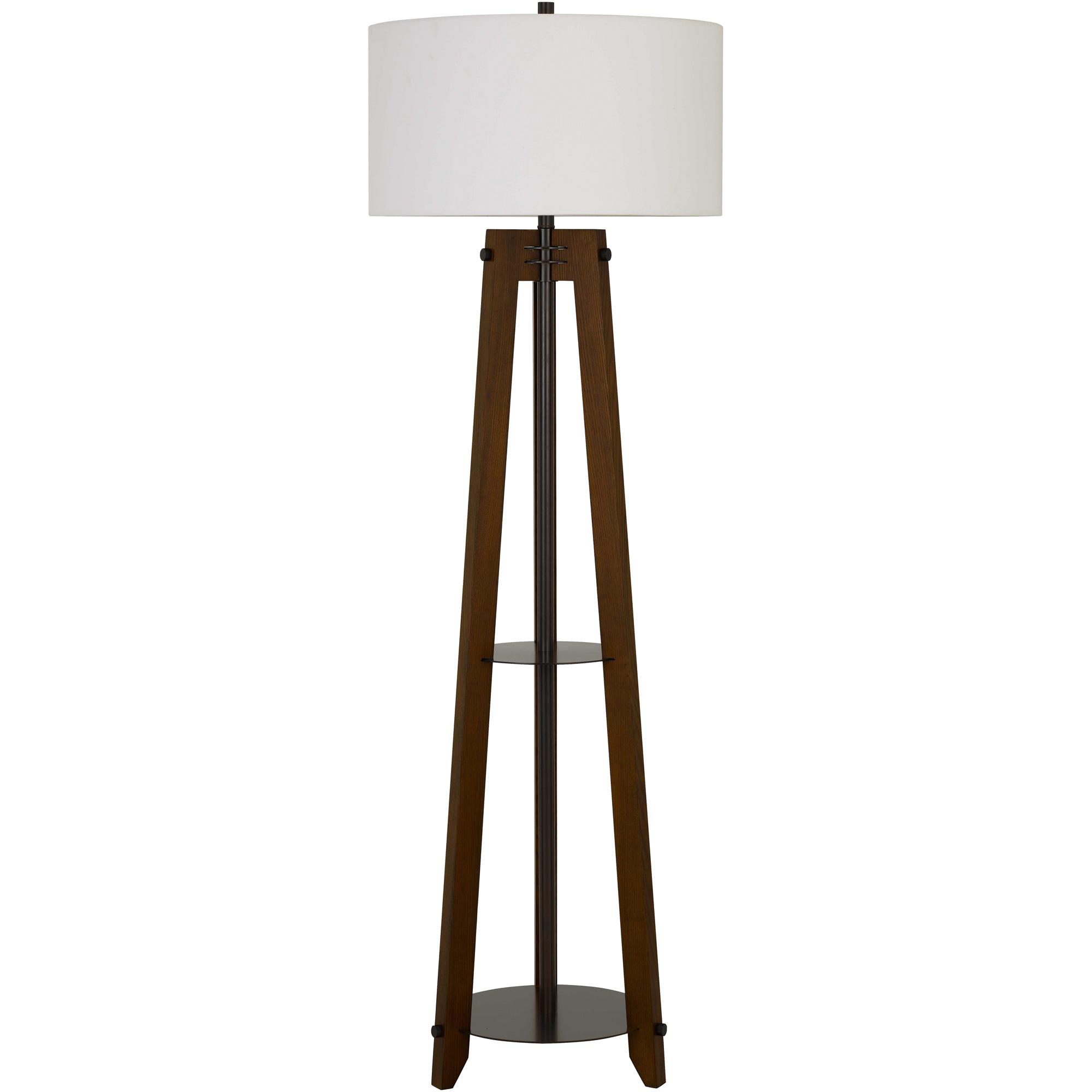 Cal Lighting | Bilzen Brown Floor Lamp
