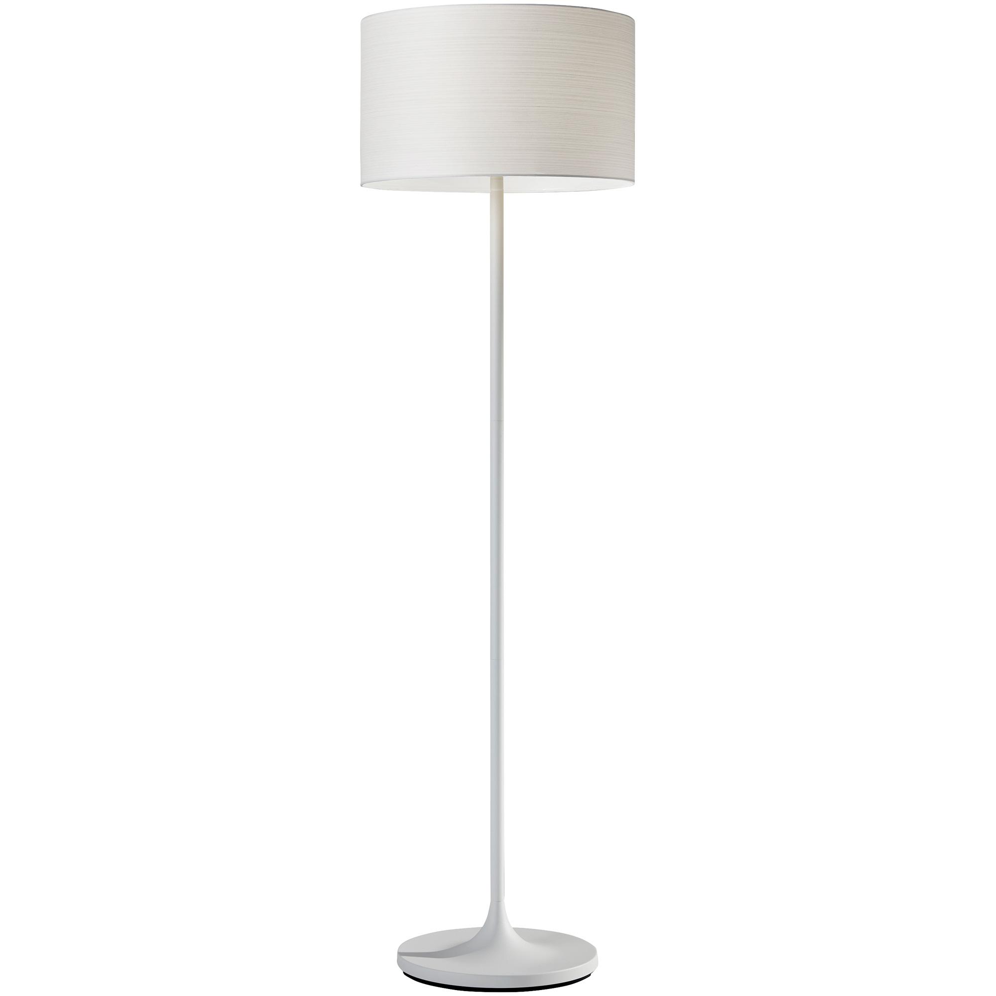 Adesso | Oslo White Floor Lamp