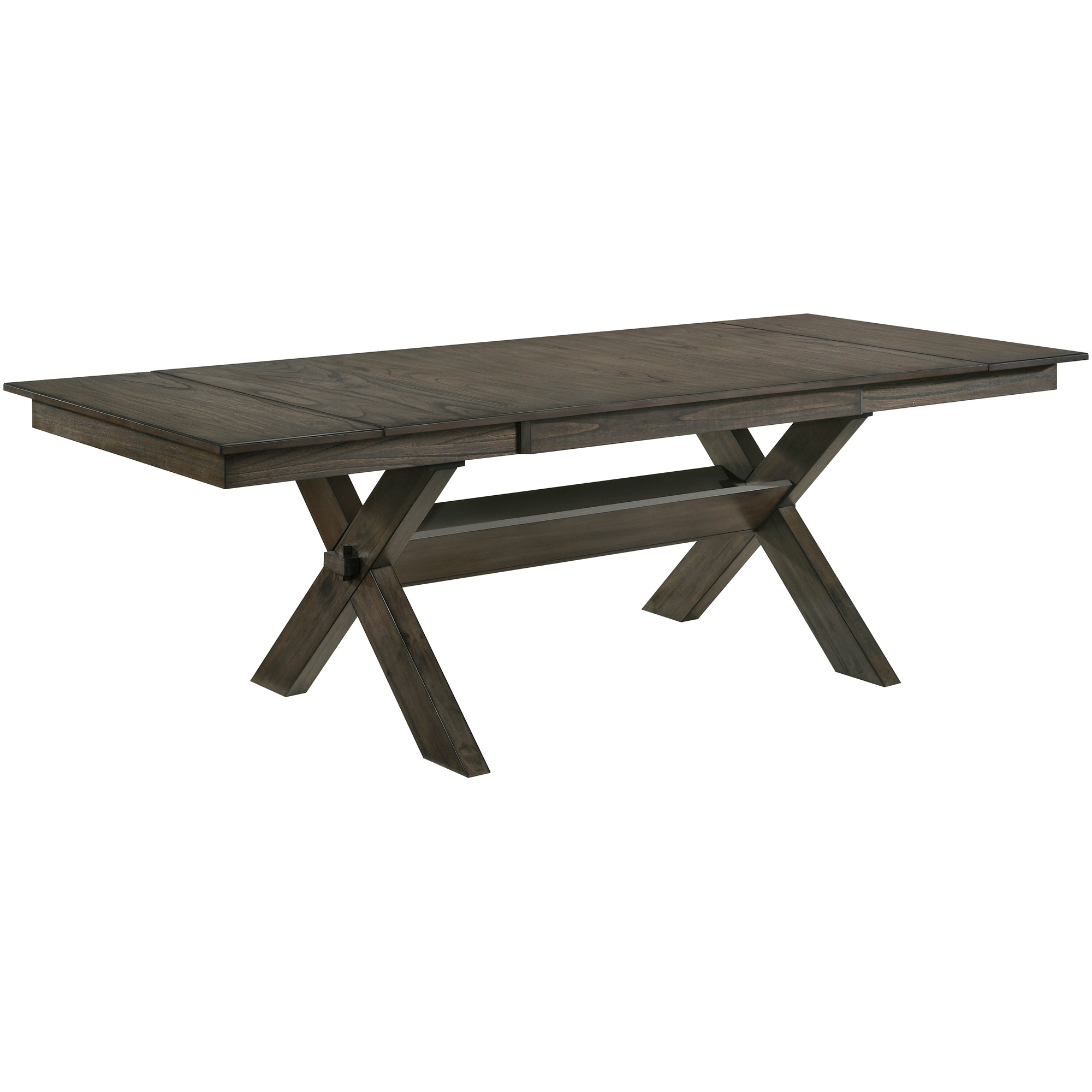 New Classic | Gulliver Rustic Brown Dining Table