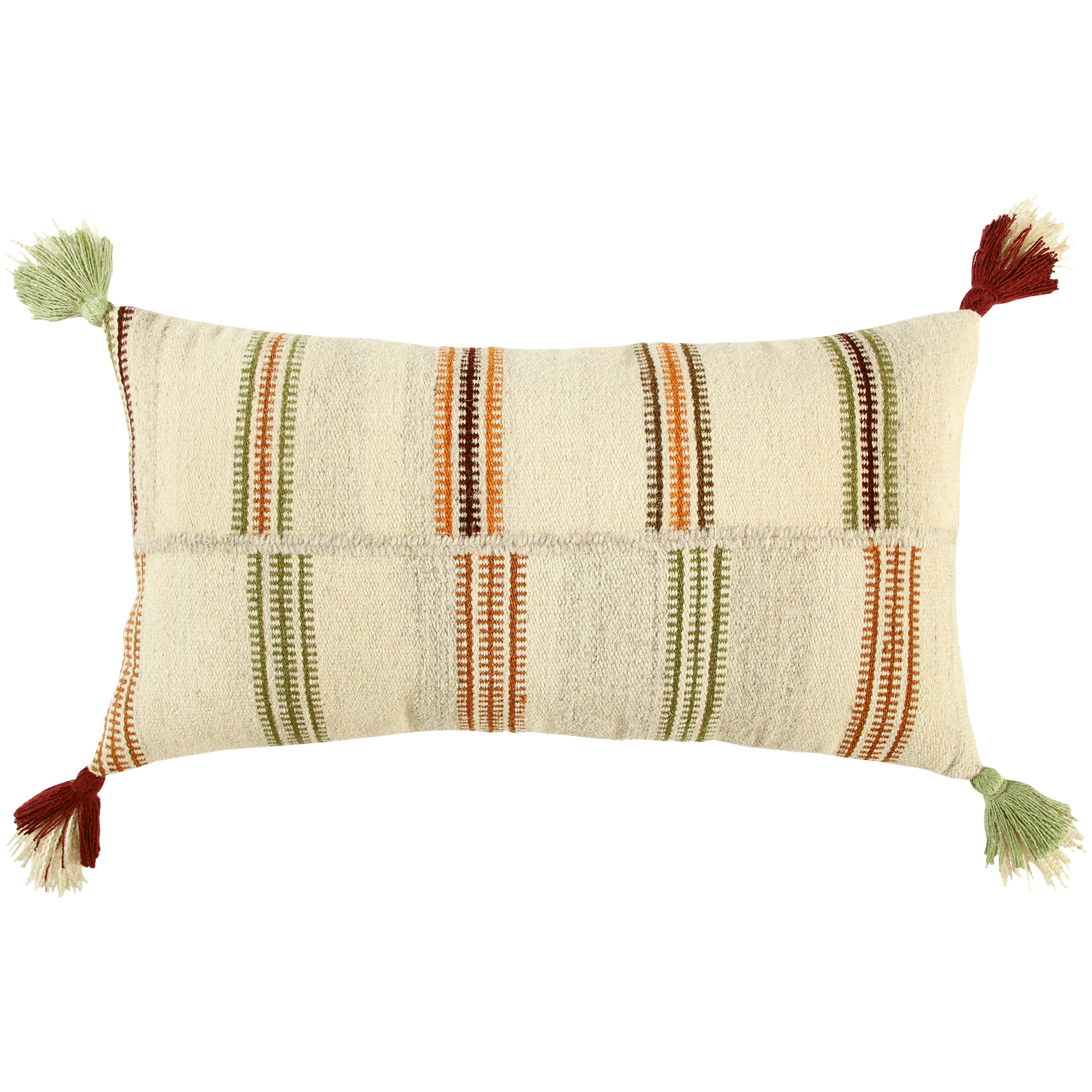 Rizzy Home | Ava Multi Colored Down Filled Pillow