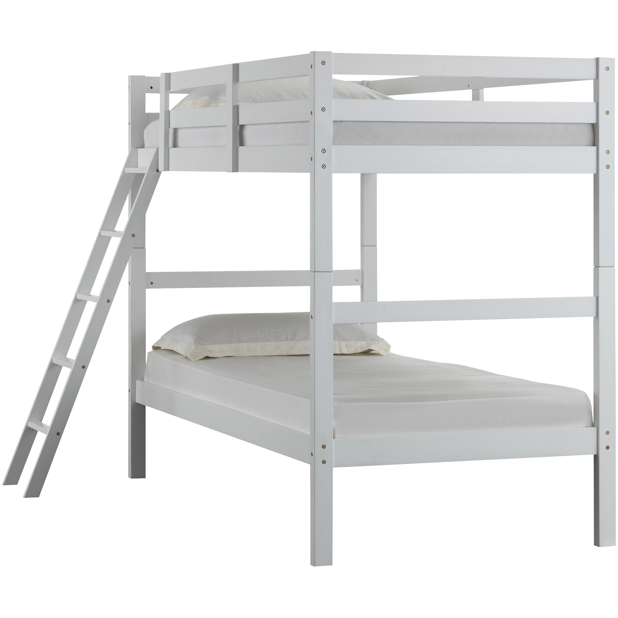 Lane Furniture | Mission Hills White Twin over Twin Bunk Bed