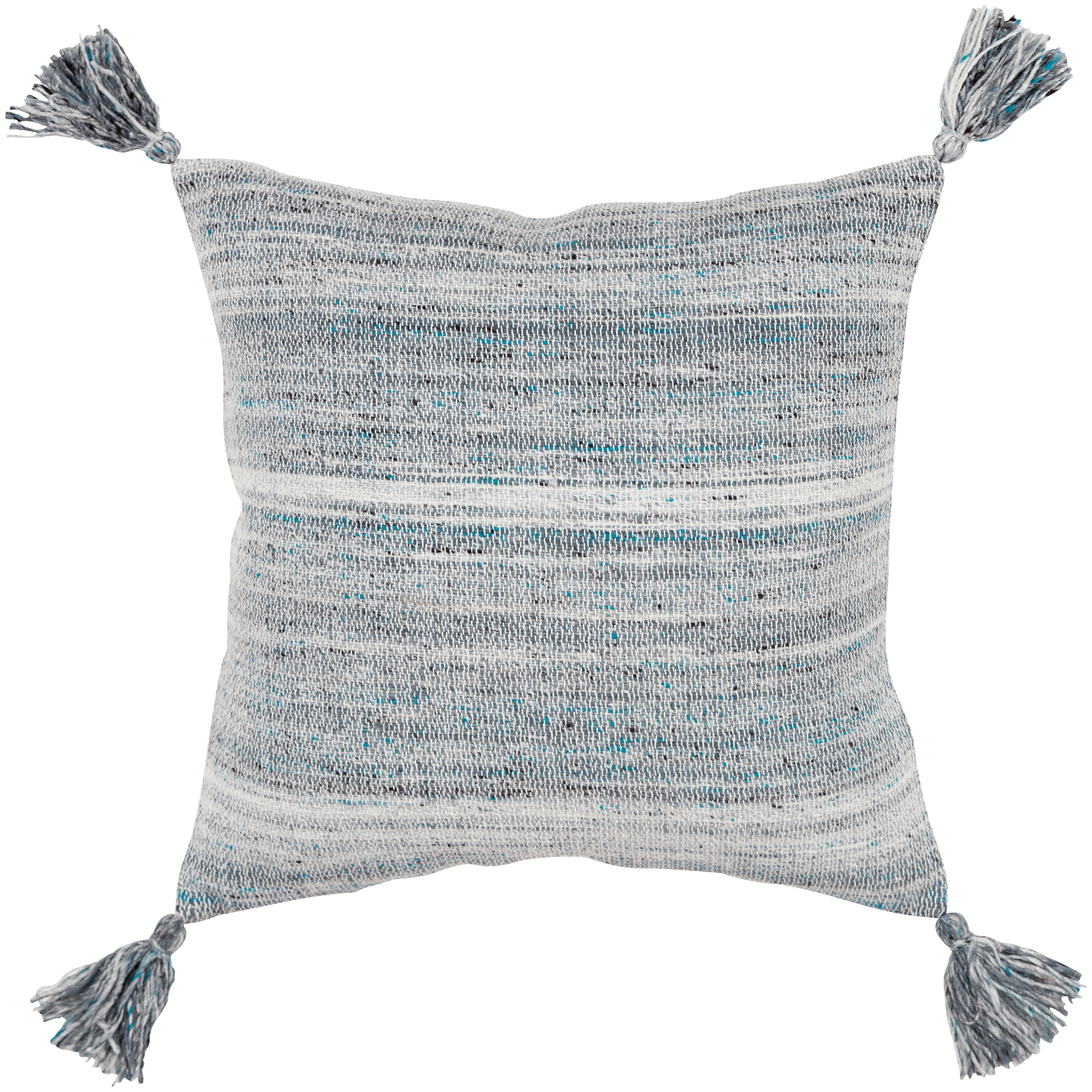 Rizzy Home | Barbara Teal Down Filled Pillow