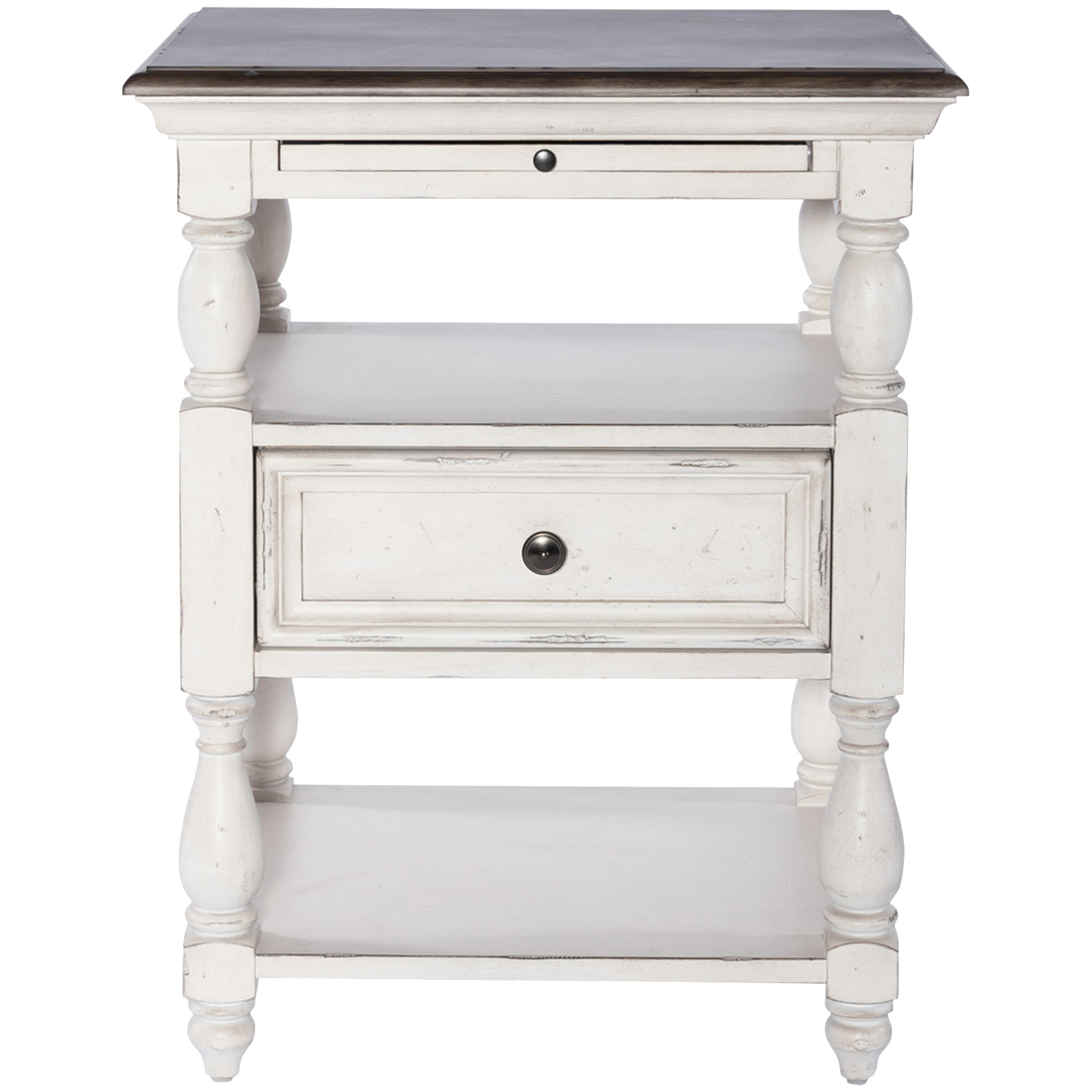Liberty Furniture | Abbey Road White Drawer End Table