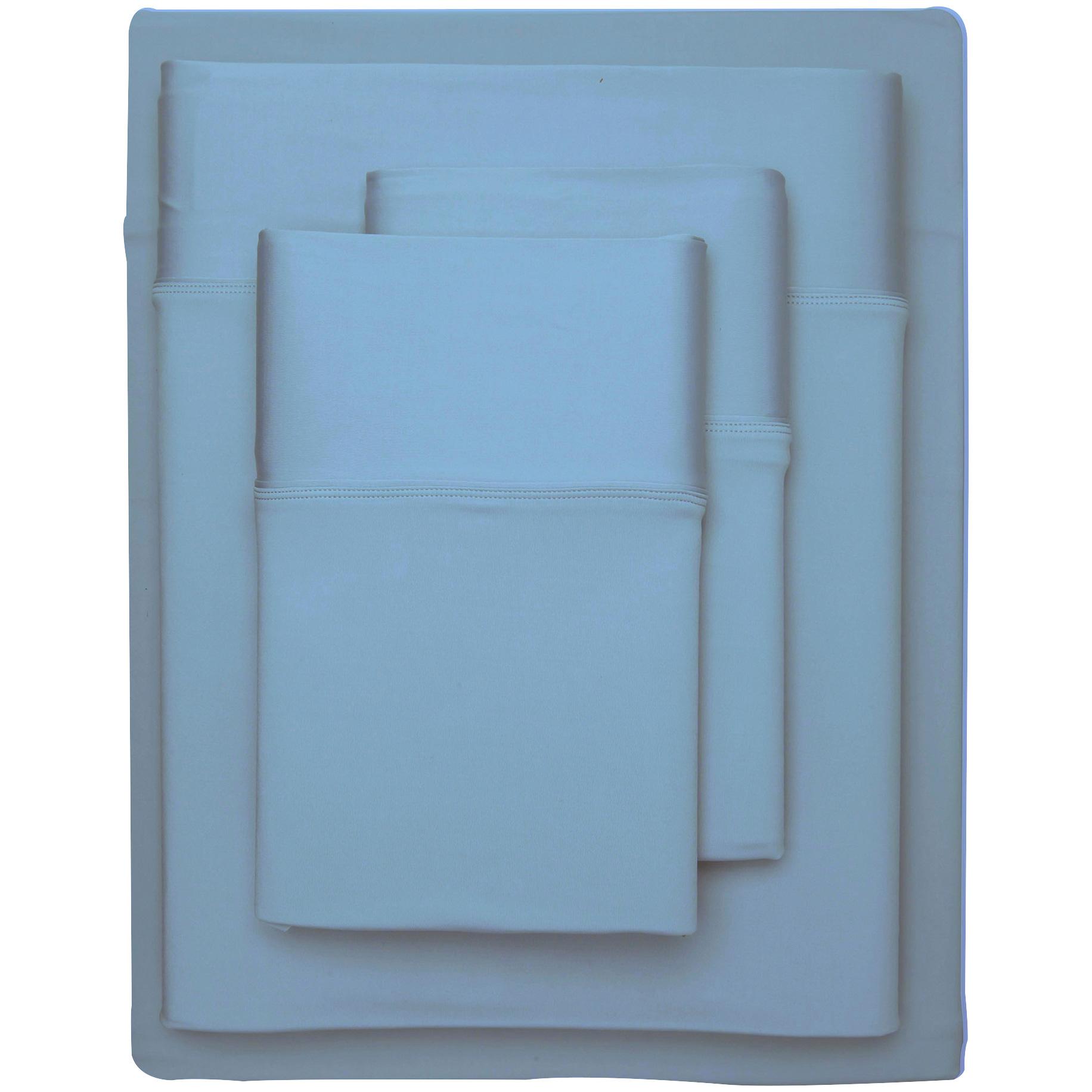 Sheex Inc. | SHEEX Aero Fit Carolina Blue Full Sheet Set