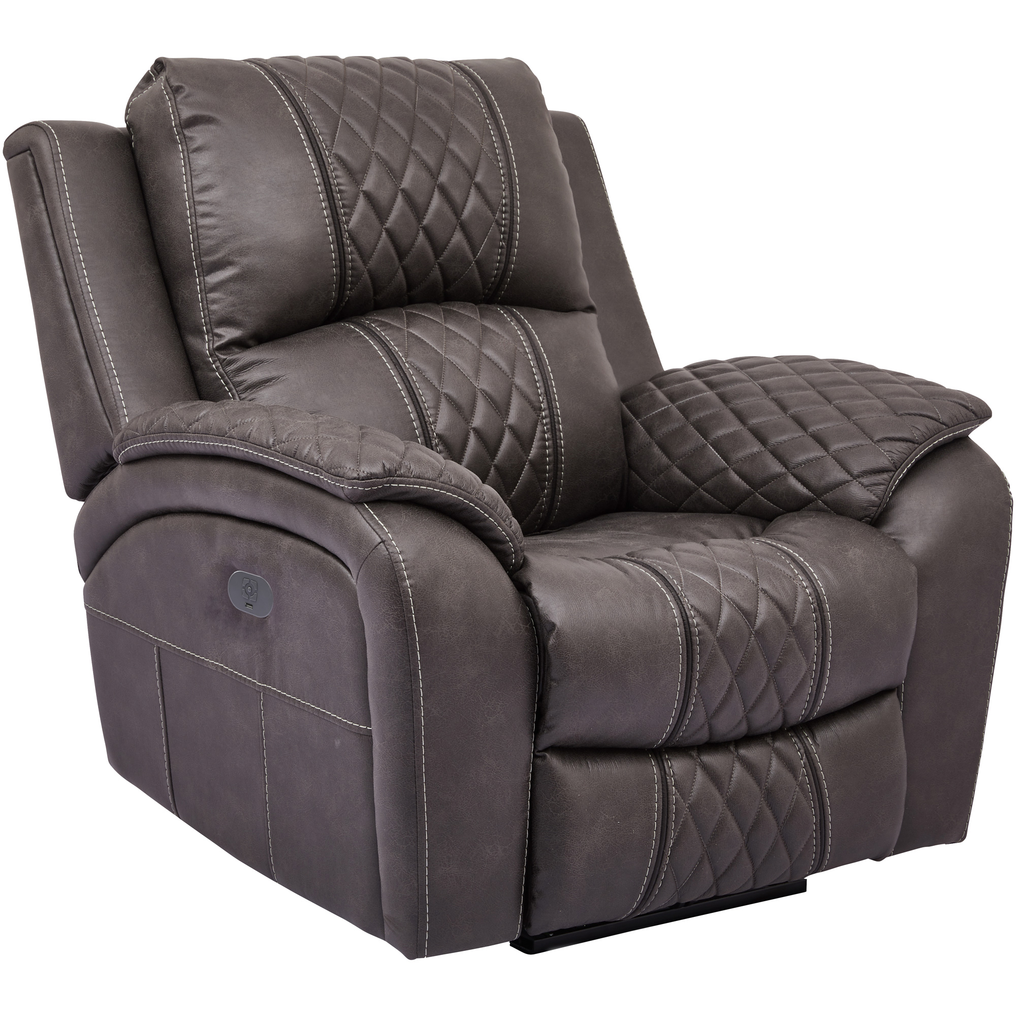 Wah Cheers | Starling Graphite Power Plus Recliner Chair