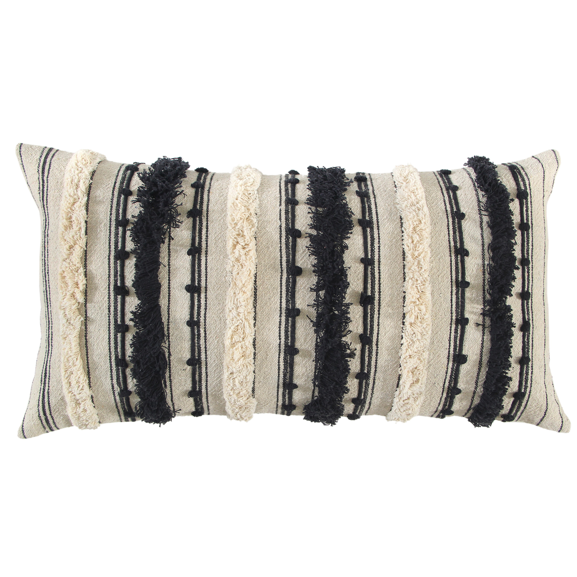 Rizzy Home | Adeline Black Down Filled Pillow
