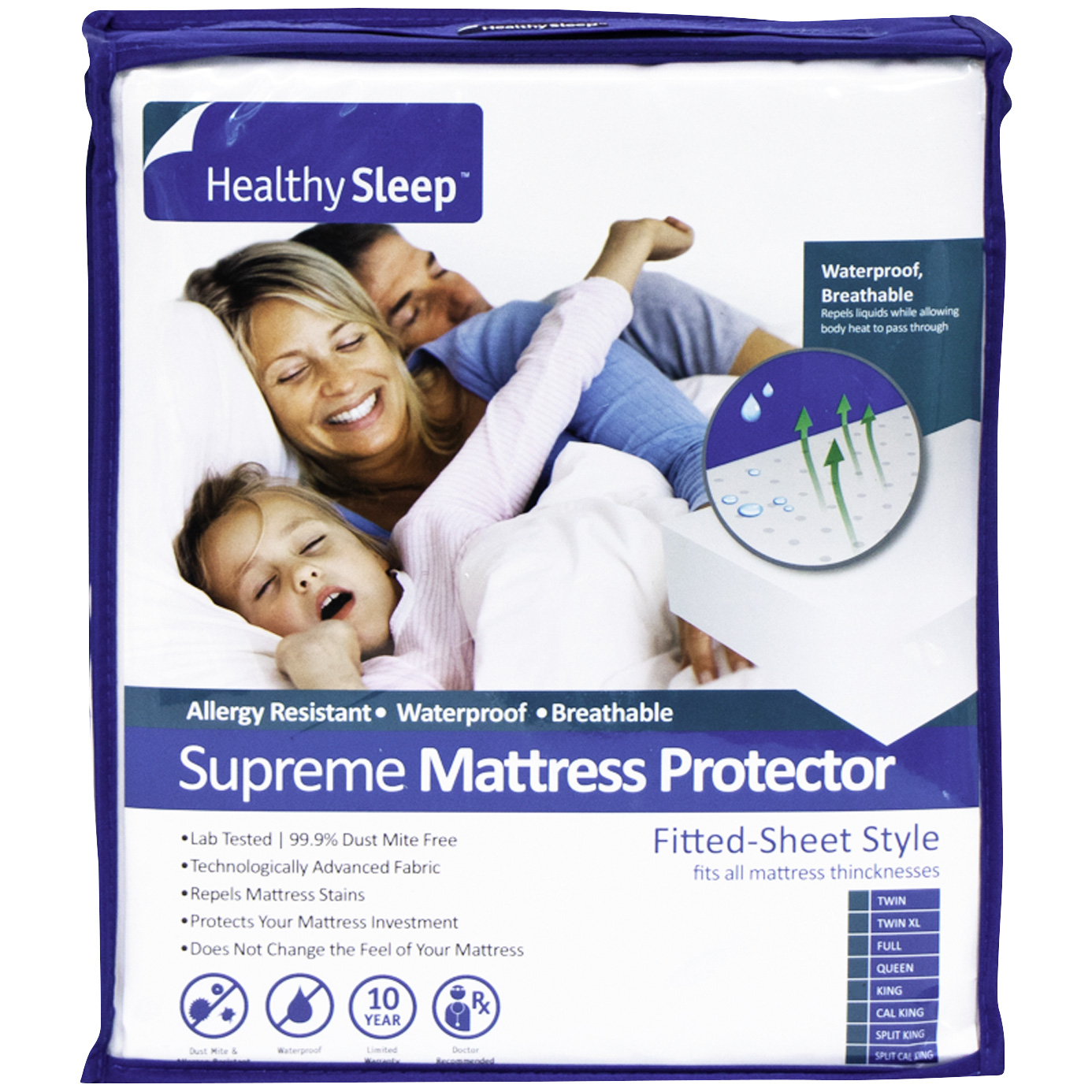 Gbs Enterprises | Interlock Supreme King Mattress Protector