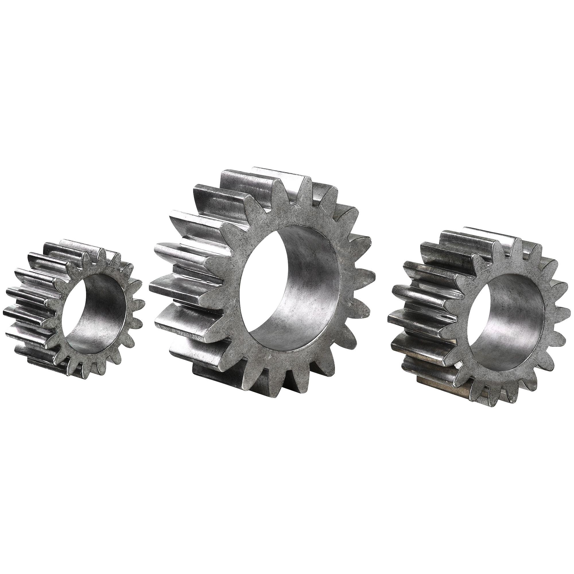 Uttermost | Gears Silver Sculpture