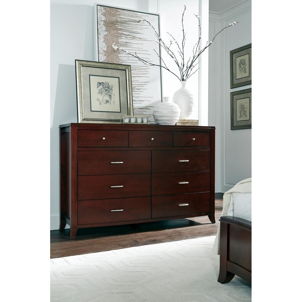 Modus Furniture International | Brighton Cinnamon Dresser | Mahogany