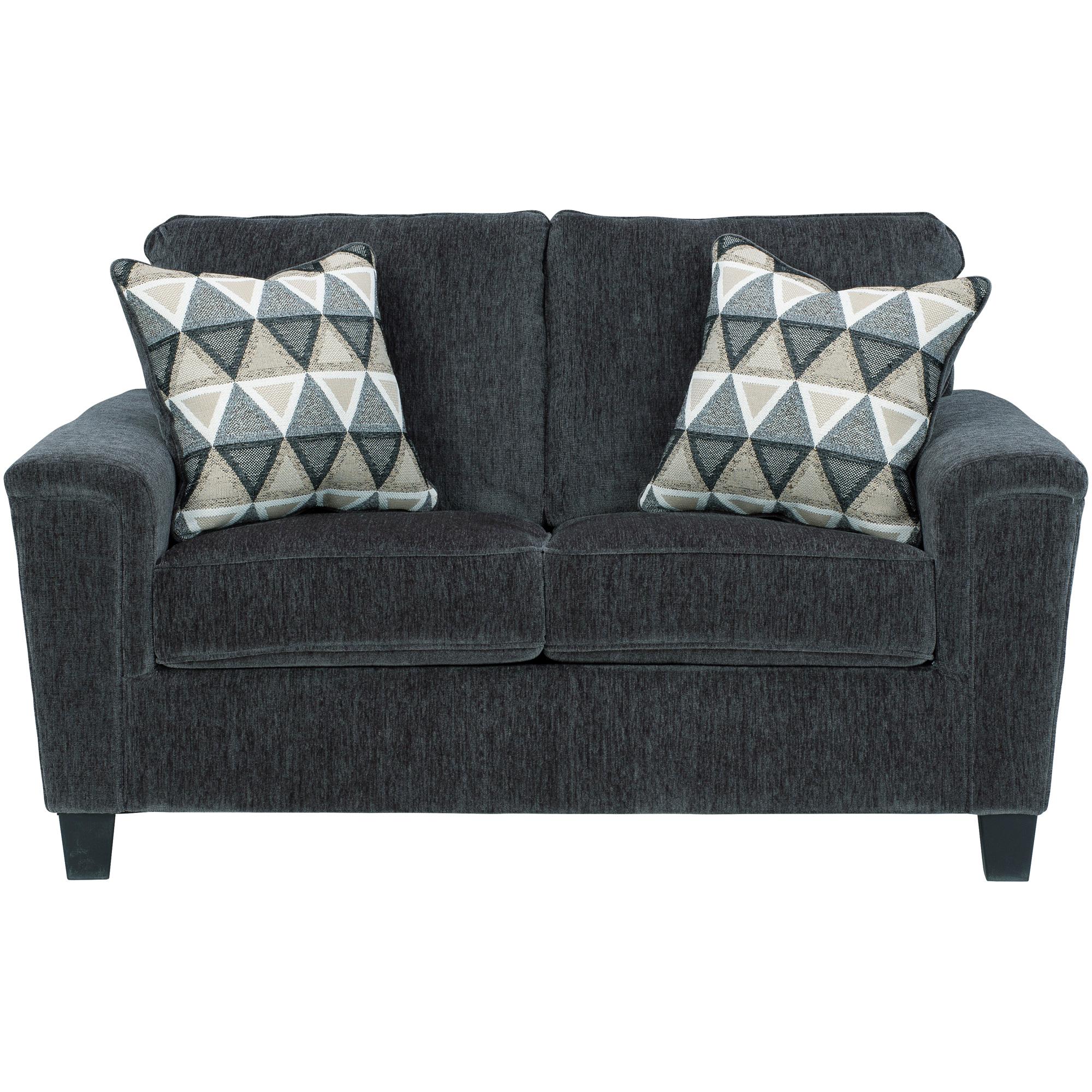 Ashley Furniture | Abinger Smoke Loveseat Sofa