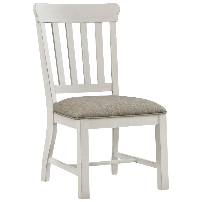 Intercon | Drake White Side Chair