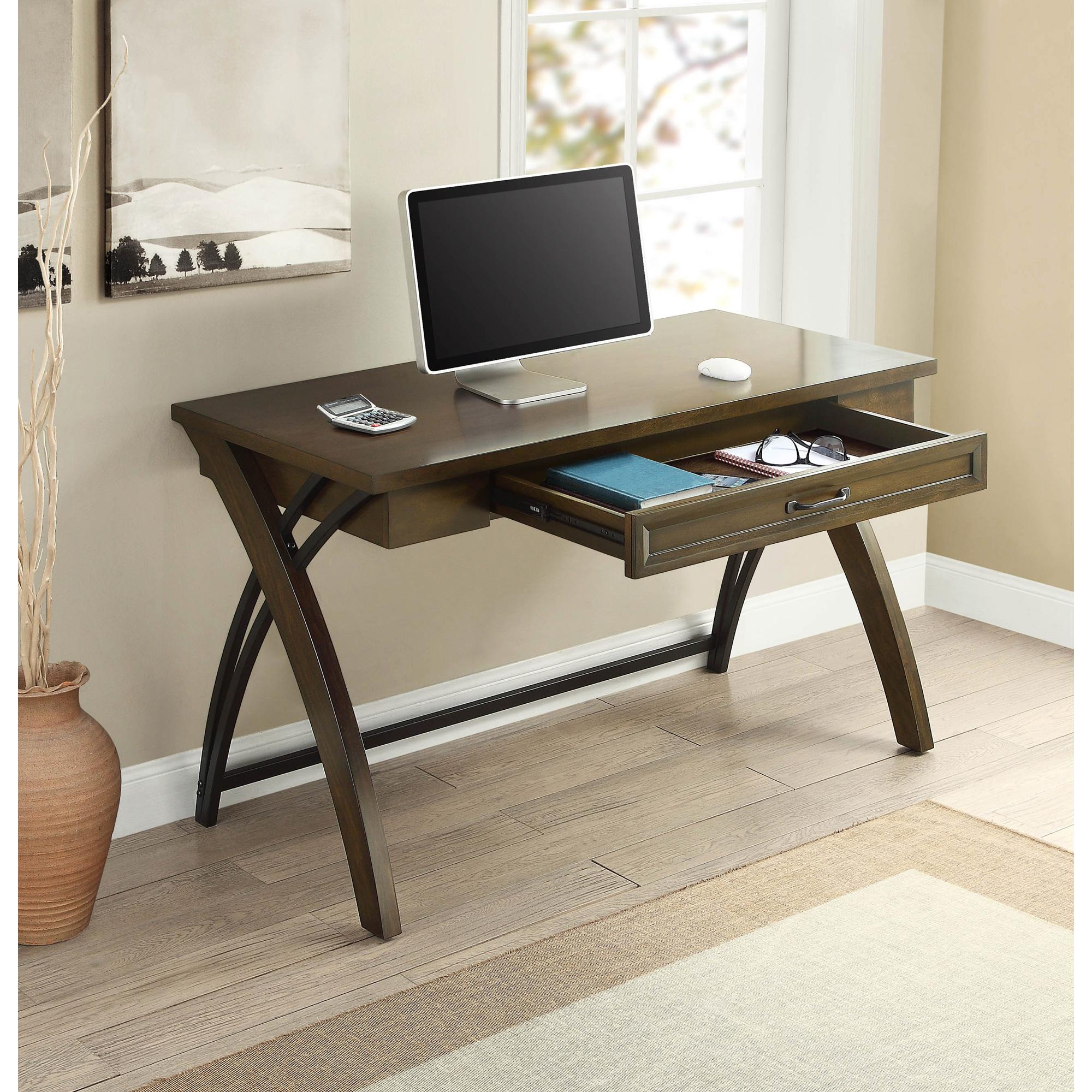 Whalen   Axon Brown Cherry Desk