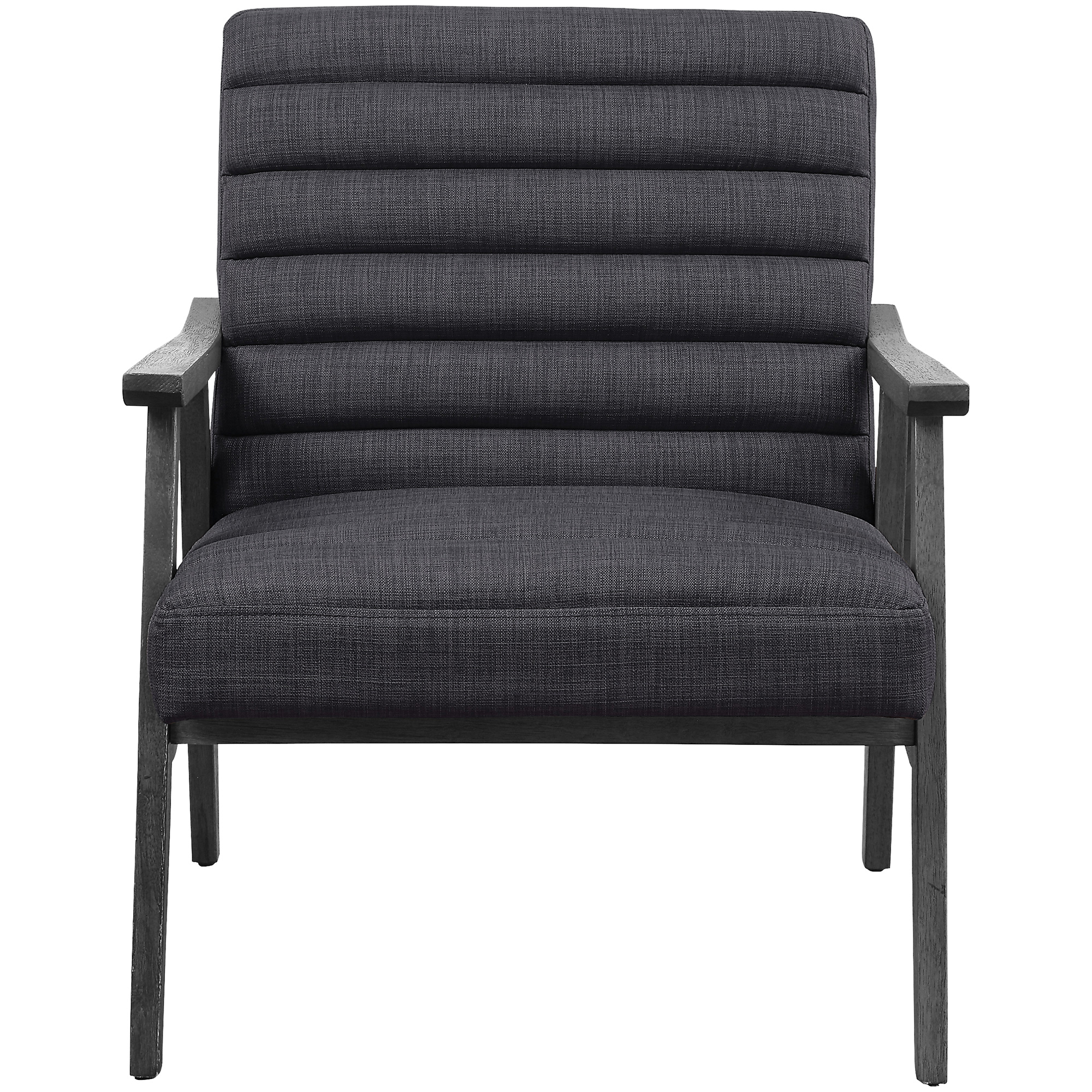 Office Star Products | Asher Charoal Accent Chair
