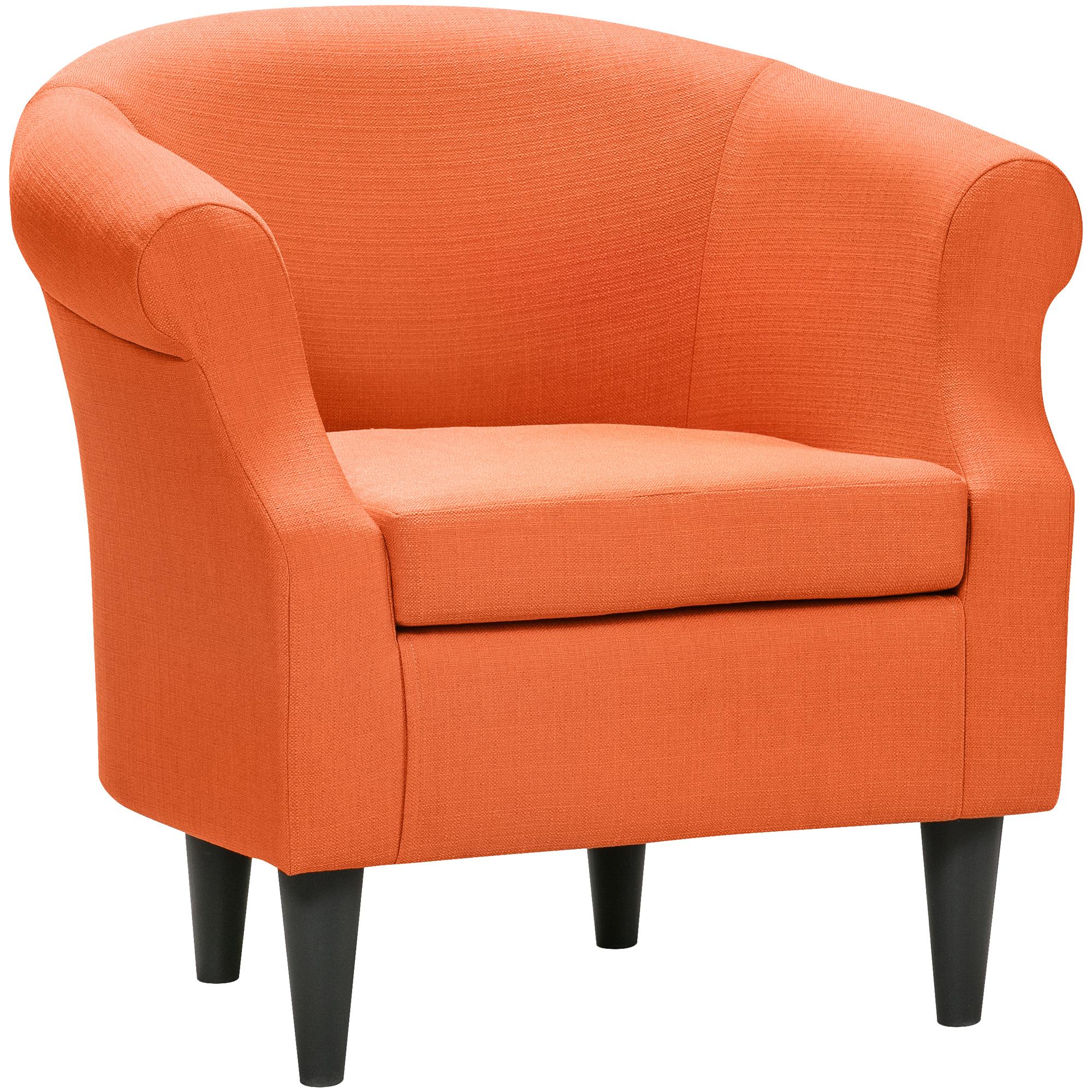 Overman   Nikole Saffron Accent Chair