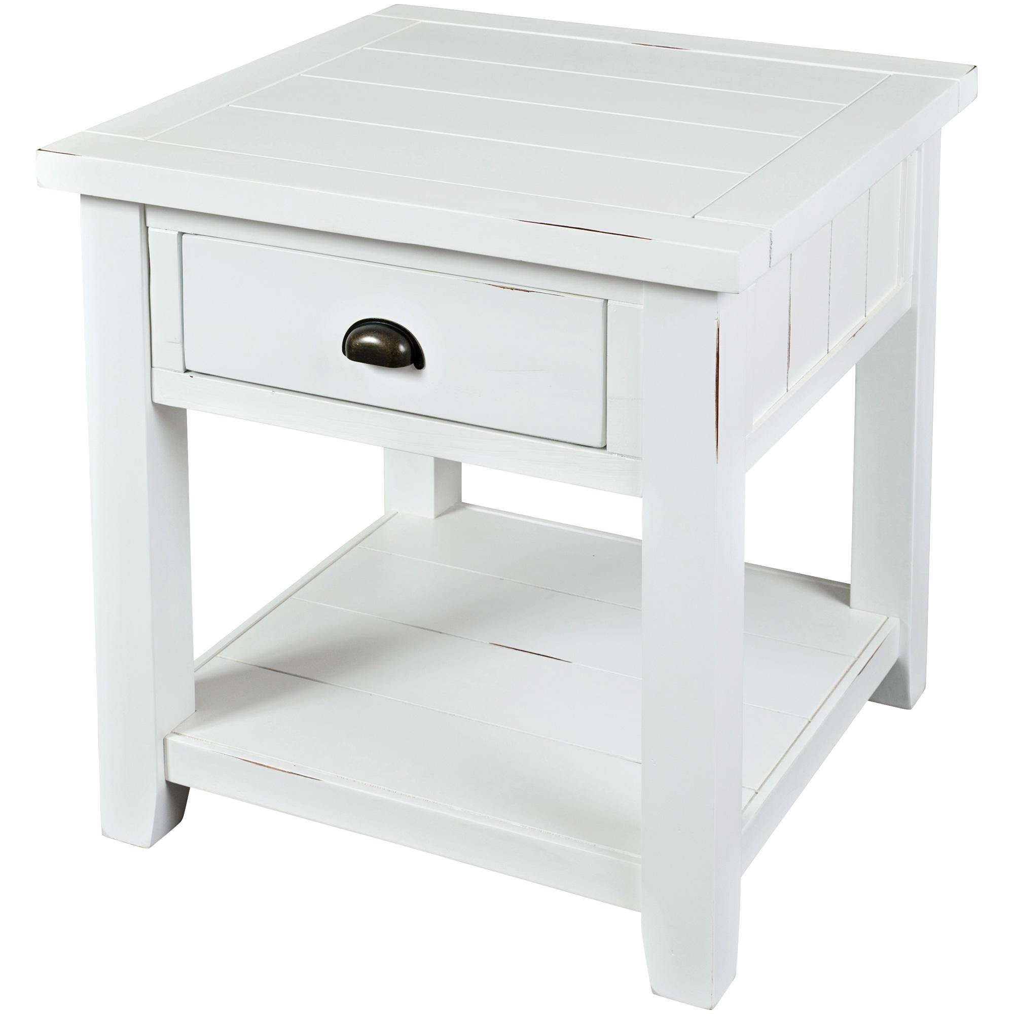 Jofran | Artisans Craft White End Table