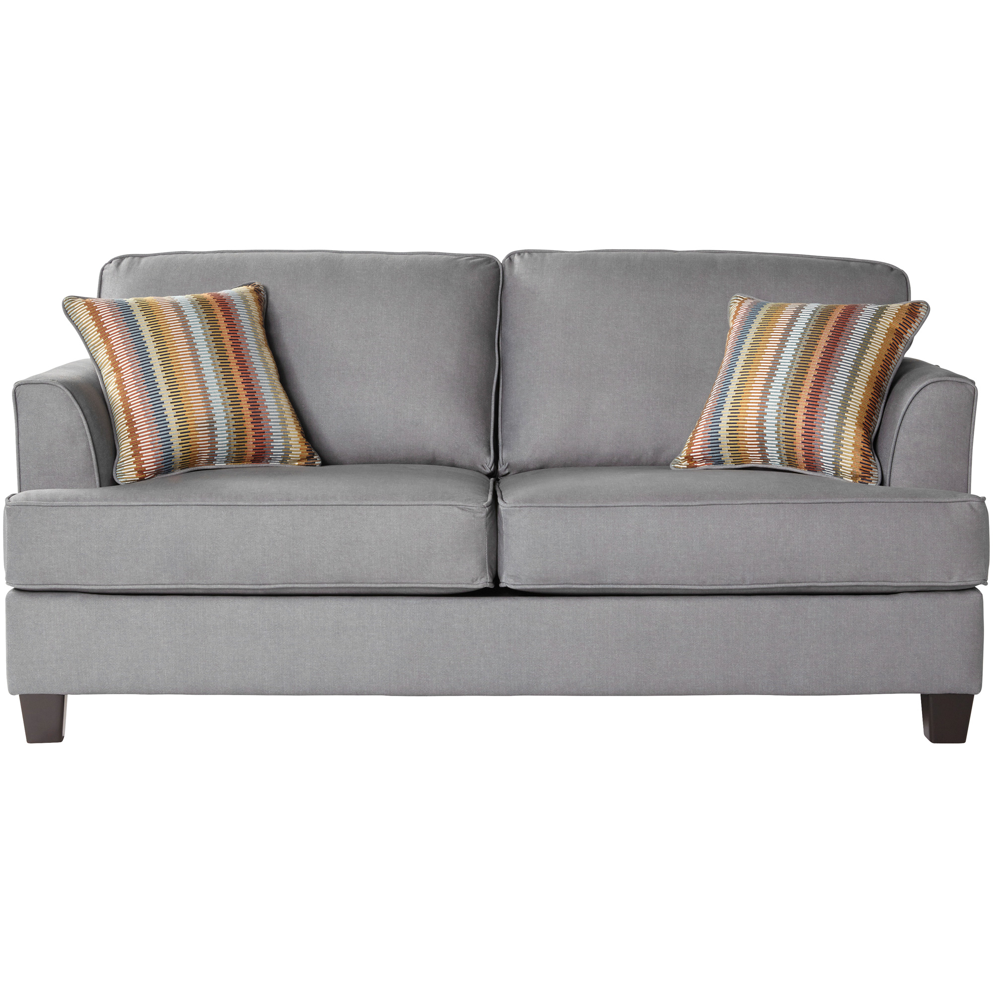 Serta Upholstery By Hughes Furniture | Aloron Beamer Fog Full Sleeper Sofa