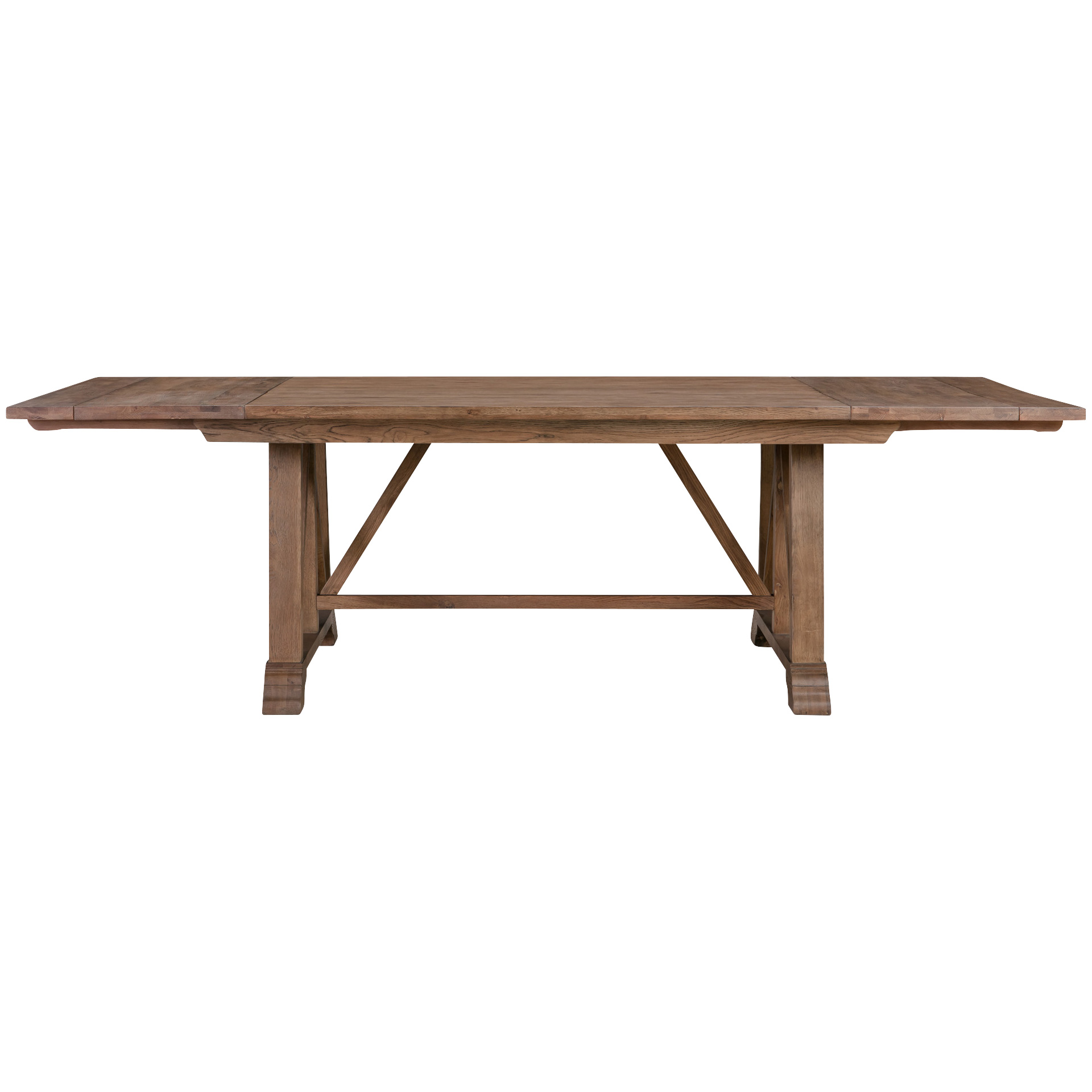 America | McMillian Heights Tawny Dining Trestle Table | Red