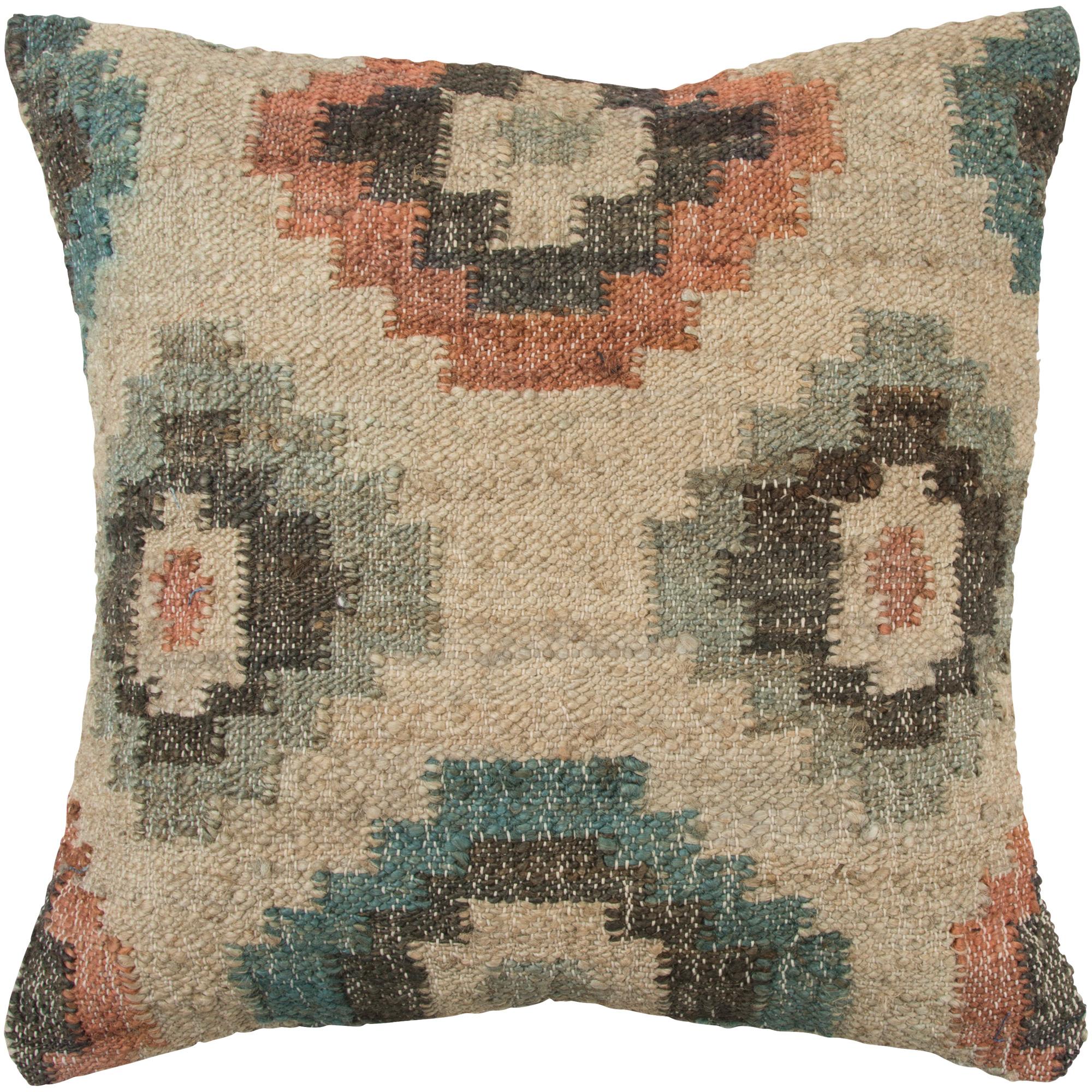 Rizzy Home | Aztec Vintage Mission Multicolor Down Pillow