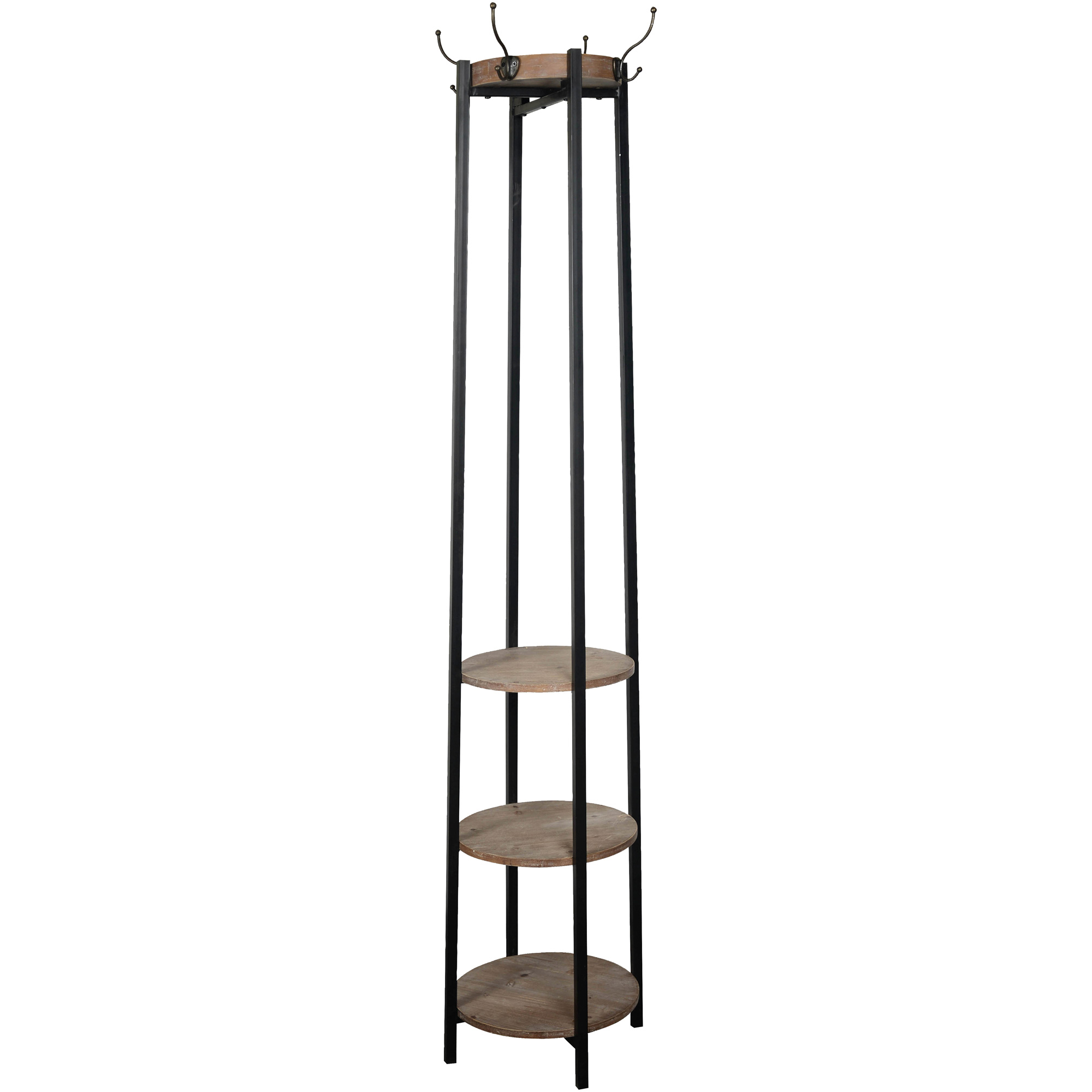 Stylecraft Home Collection | Hanston Bronze 3 Shelf Coat Rack