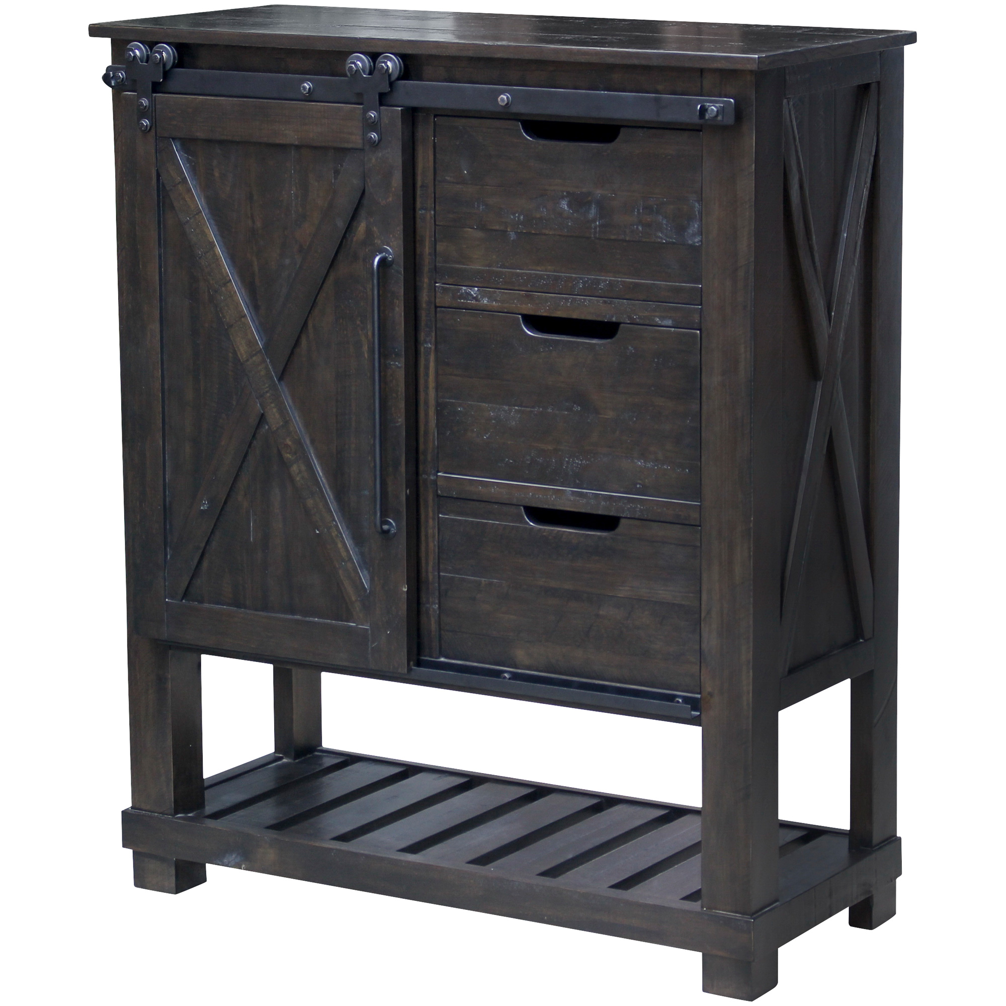 America | Sun Valley Charcoal Barn Door Chest