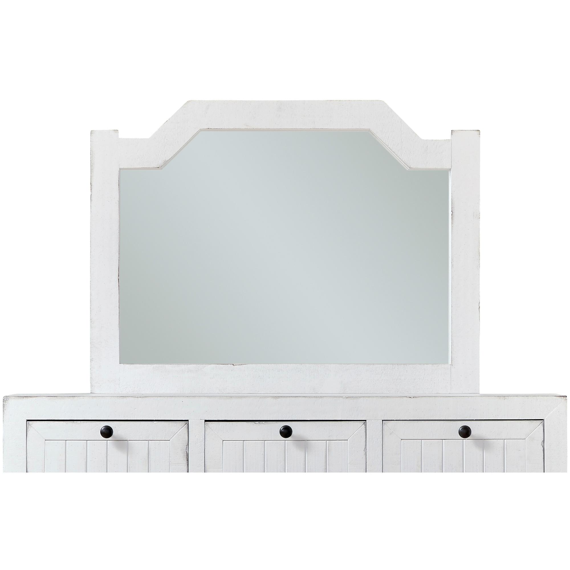 Progressive Furniture Inc. | Elmhurst White Mirror