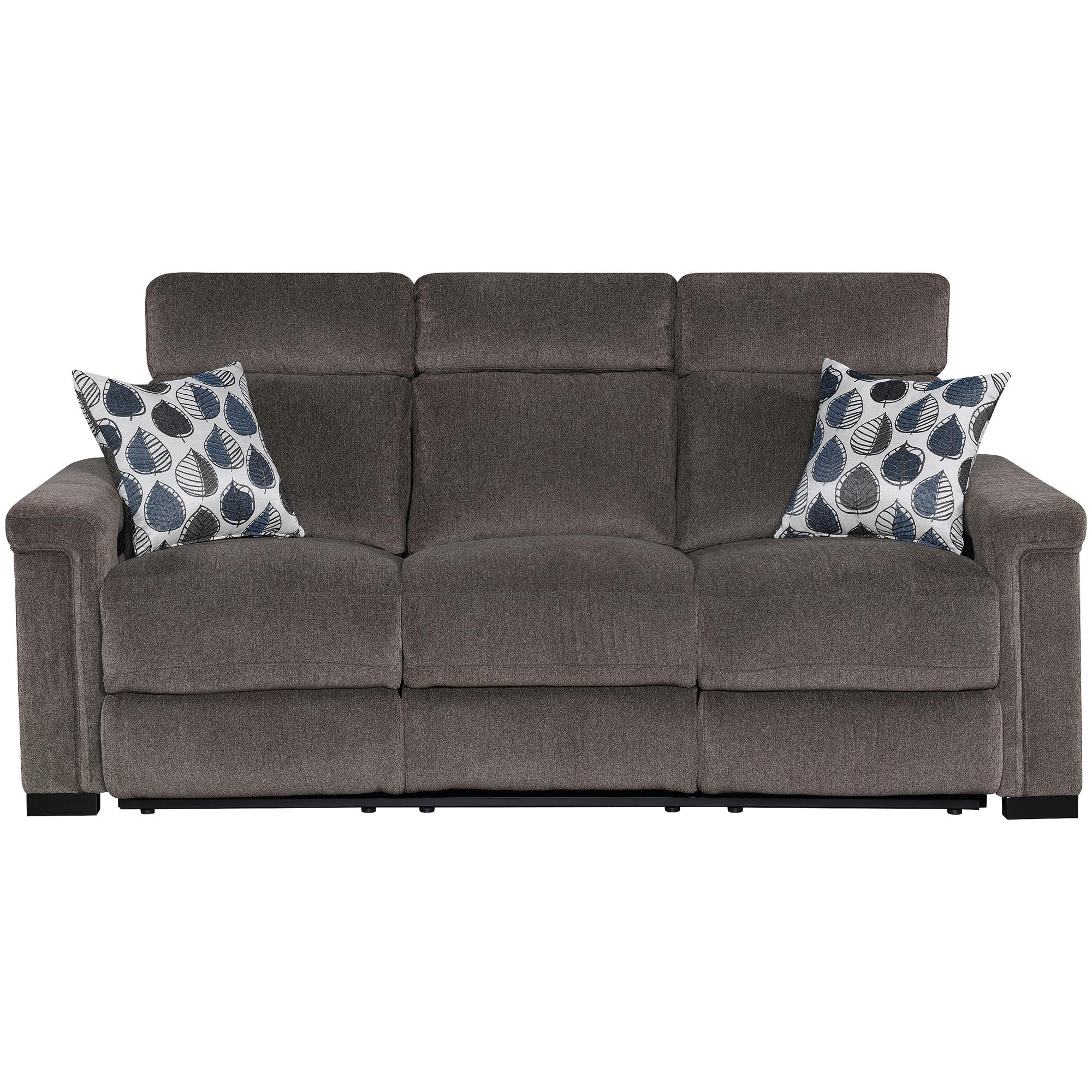 Motion 1Nnovations   Lavenue Brown Power Plus Reclining Sofa