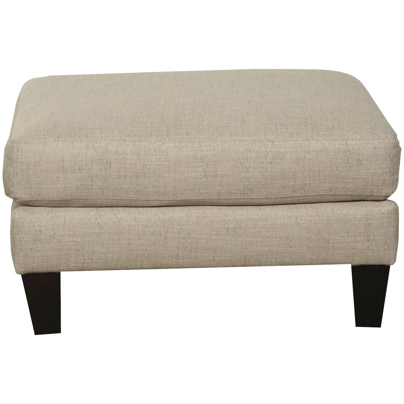 Bauhaus Furniture | Solo Burlap Ottoman