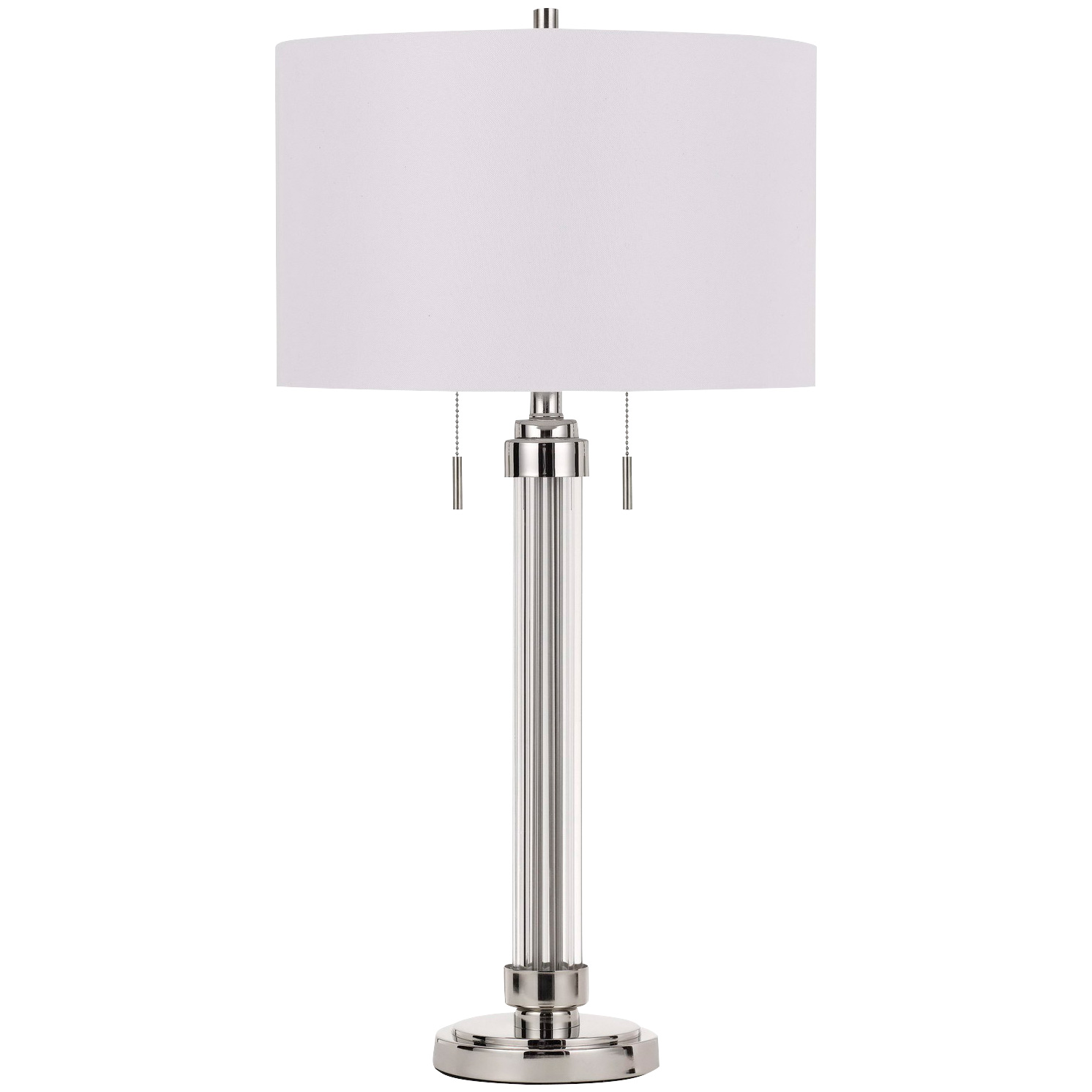 Cal Lighting | Montilla Clear Table Lamp