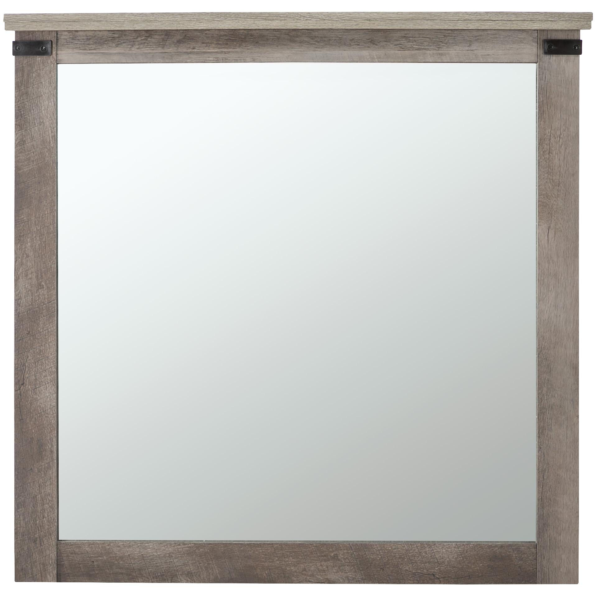 Kith Furniture | Gambrel Driftwood Mirror