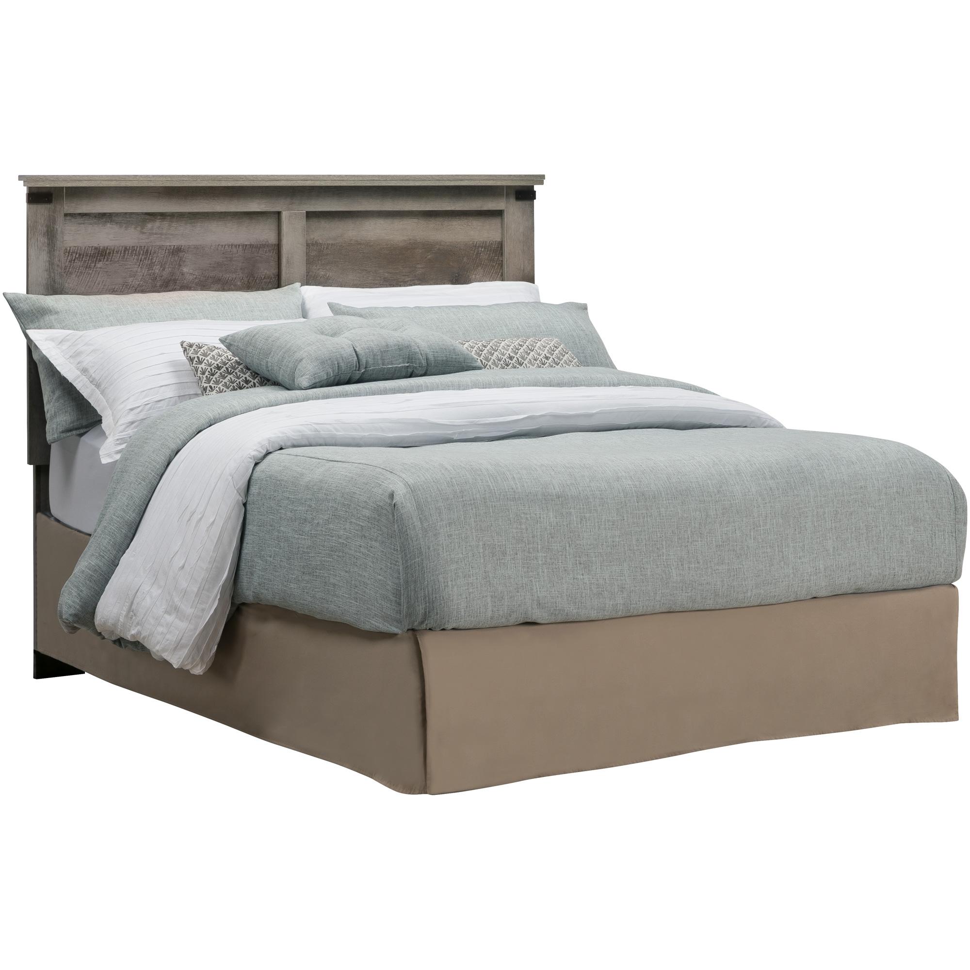 Kith Furniture | Gambrel Driftwood Full Queen Panel Headboard