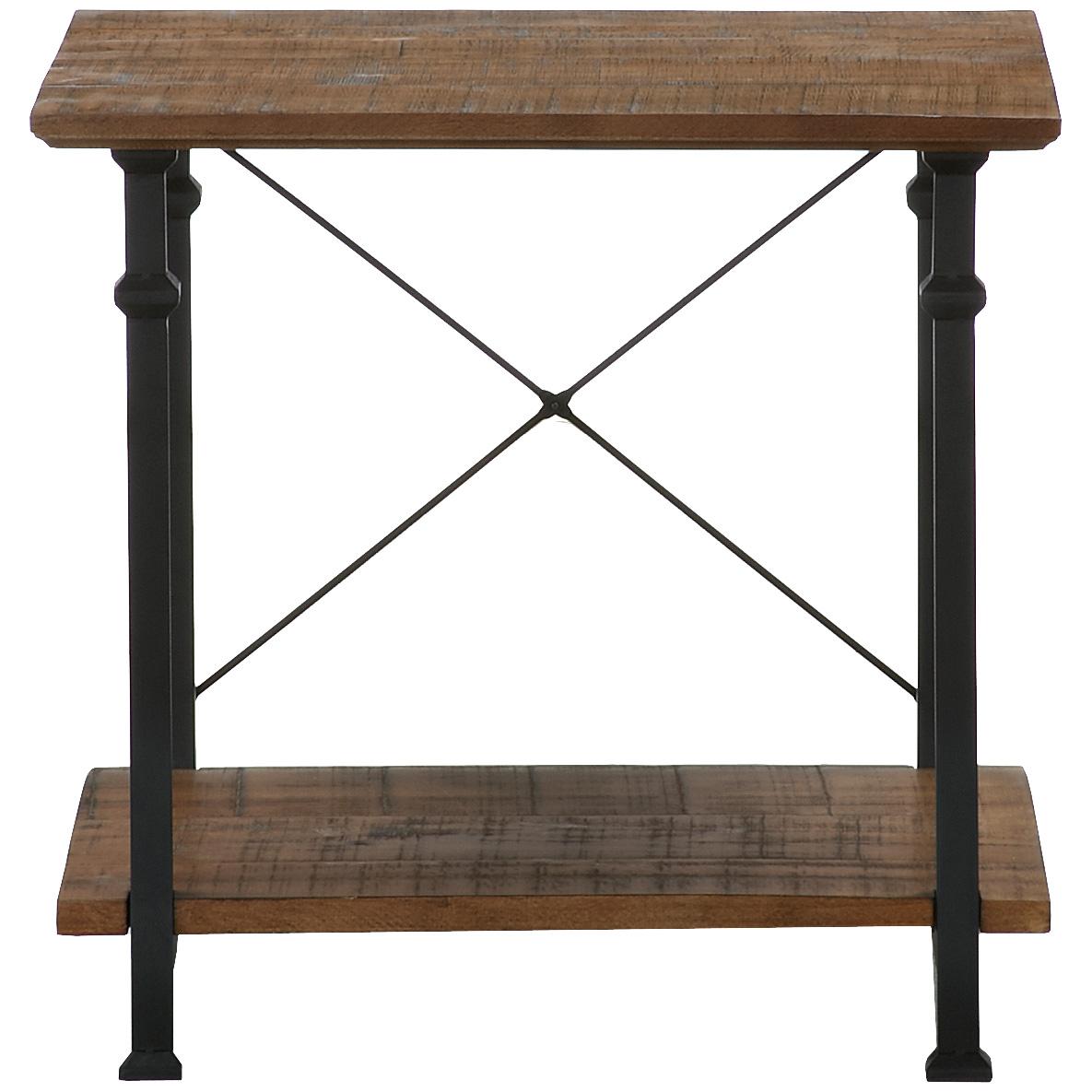 Home Elegance | Ames Poplar End Table
