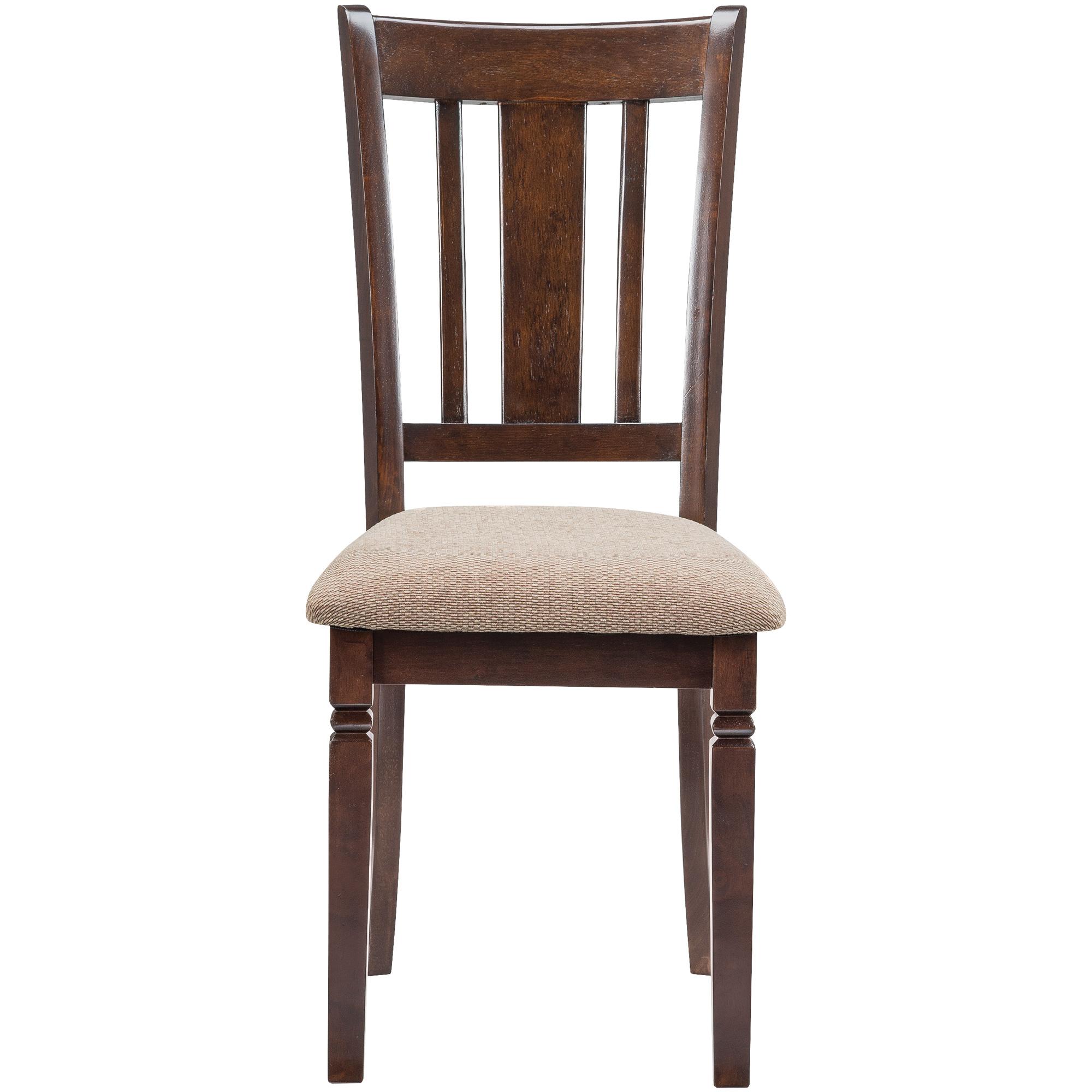Home Elegance | Durham Espresso Side Chair | Dark Brown