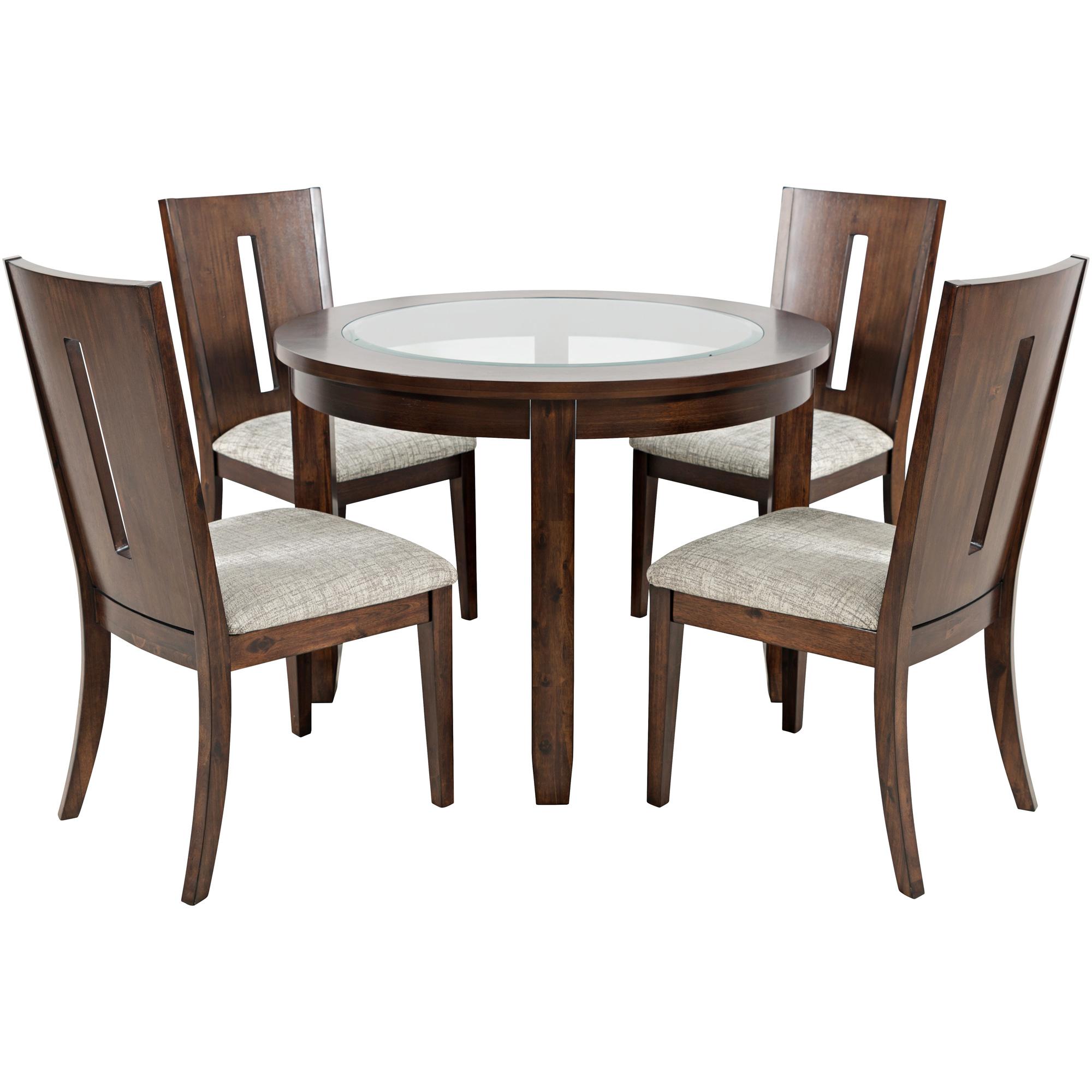 Jofran, Inc. | Urban Icon Merlot Round 5 Piece Dining Set